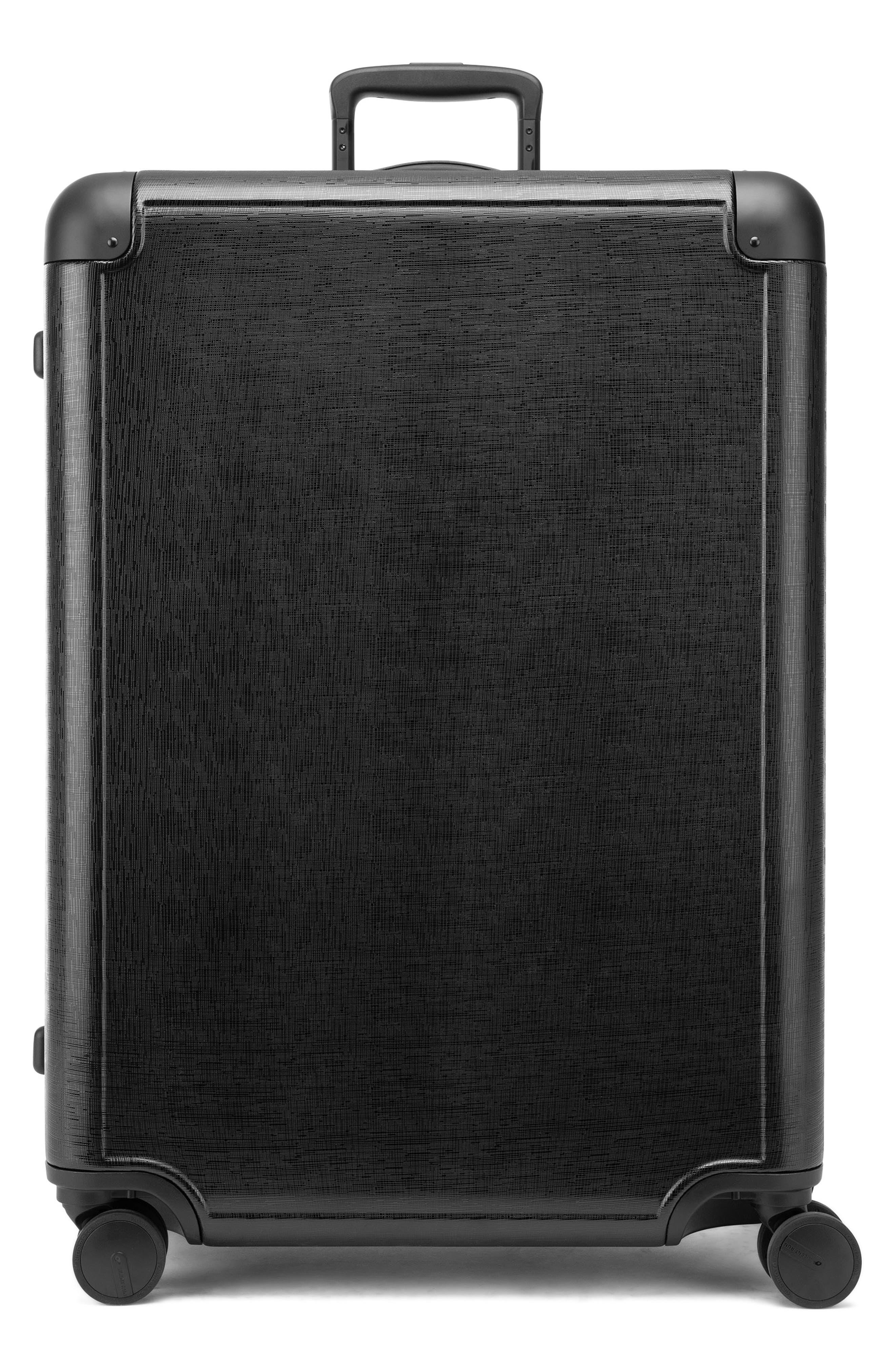 x Jen Atkin 29-Inch Suitcase,                             Main thumbnail 1, color,                             BLACK