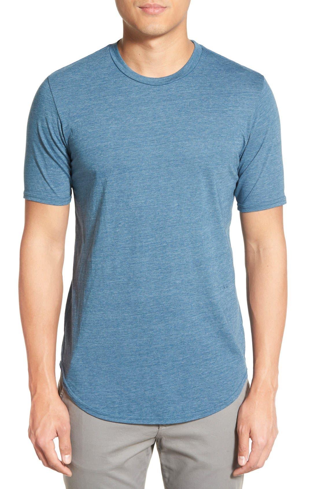 Scallop Triblend Crewneck T-Shirt,                             Main thumbnail 21, color,