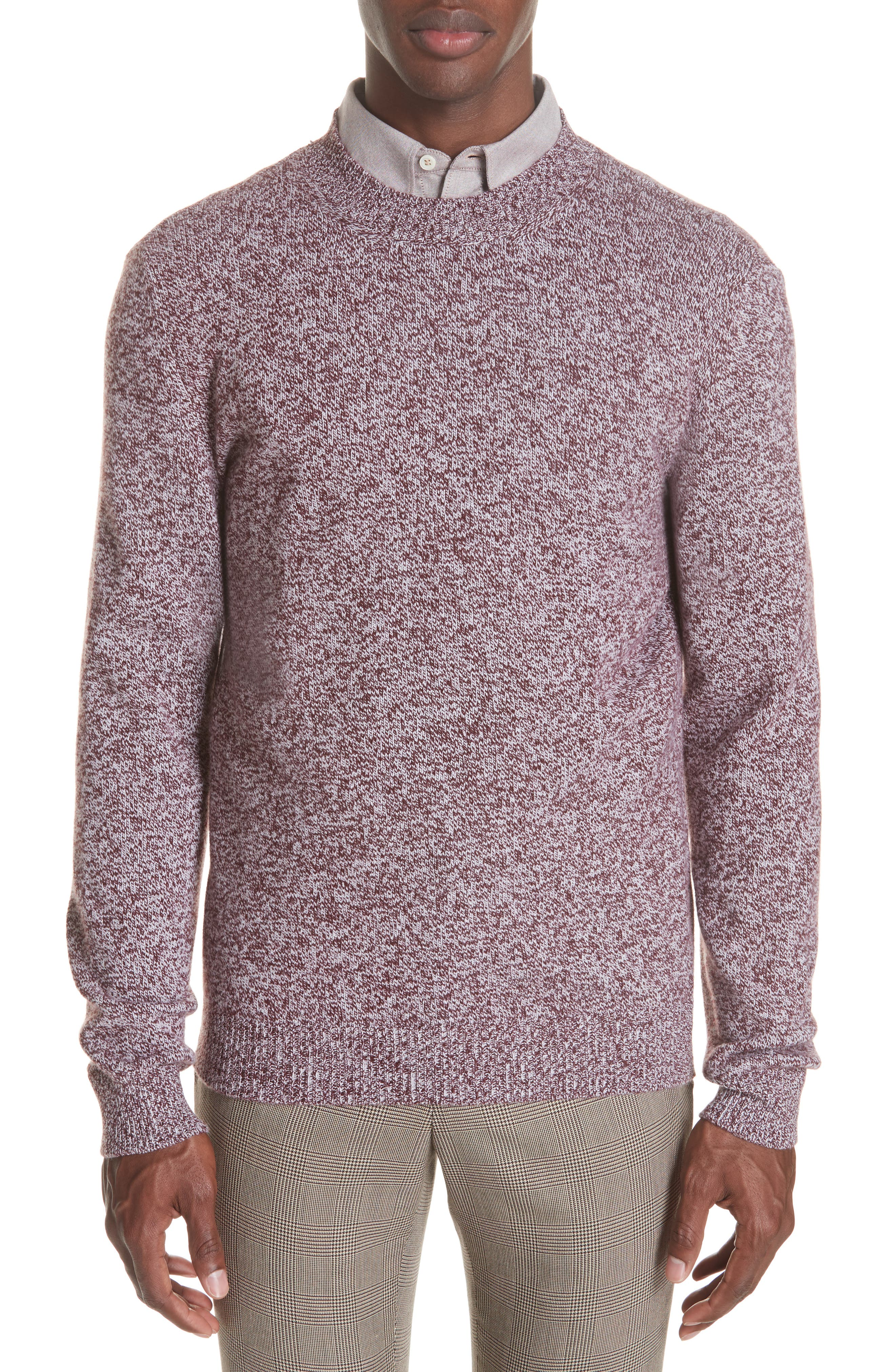Marble Wool Sweater,                             Main thumbnail 1, color,                             602