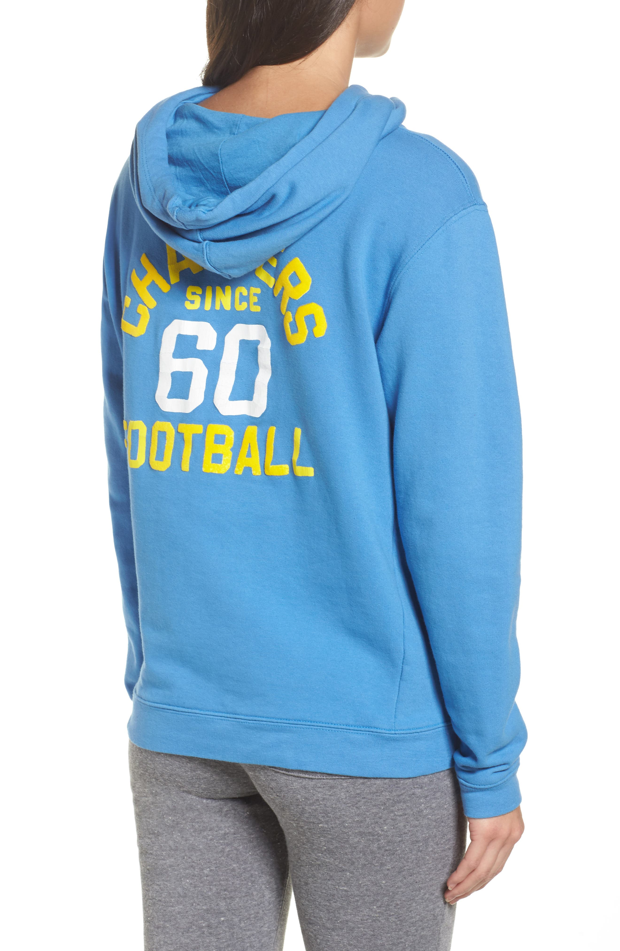 NFL Los Angeles Chargers Sunday Hoodie,                             Alternate thumbnail 2, color,                             422
