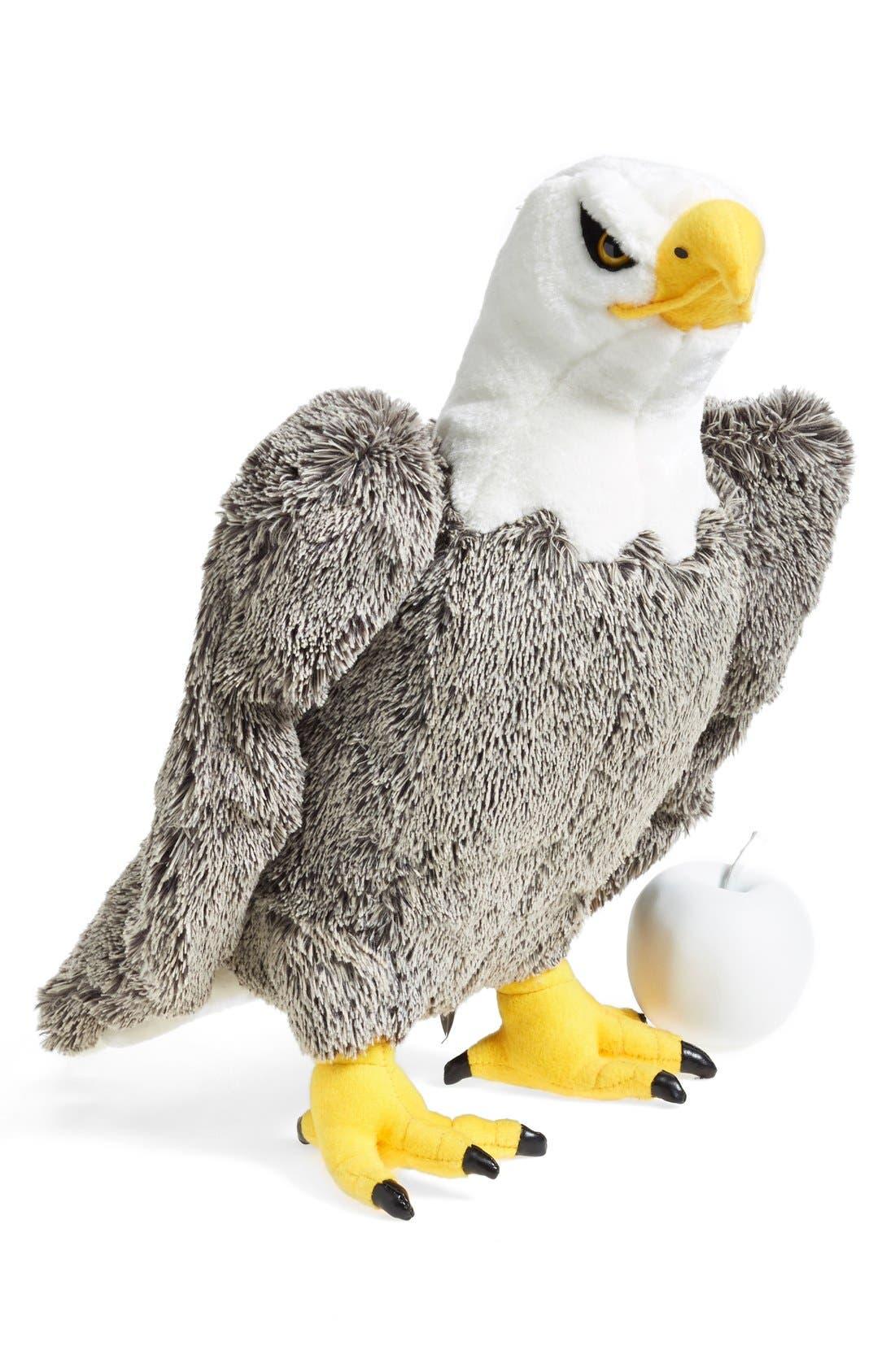 Plush Bald Eagle,                             Alternate thumbnail 2, color,                             GREY