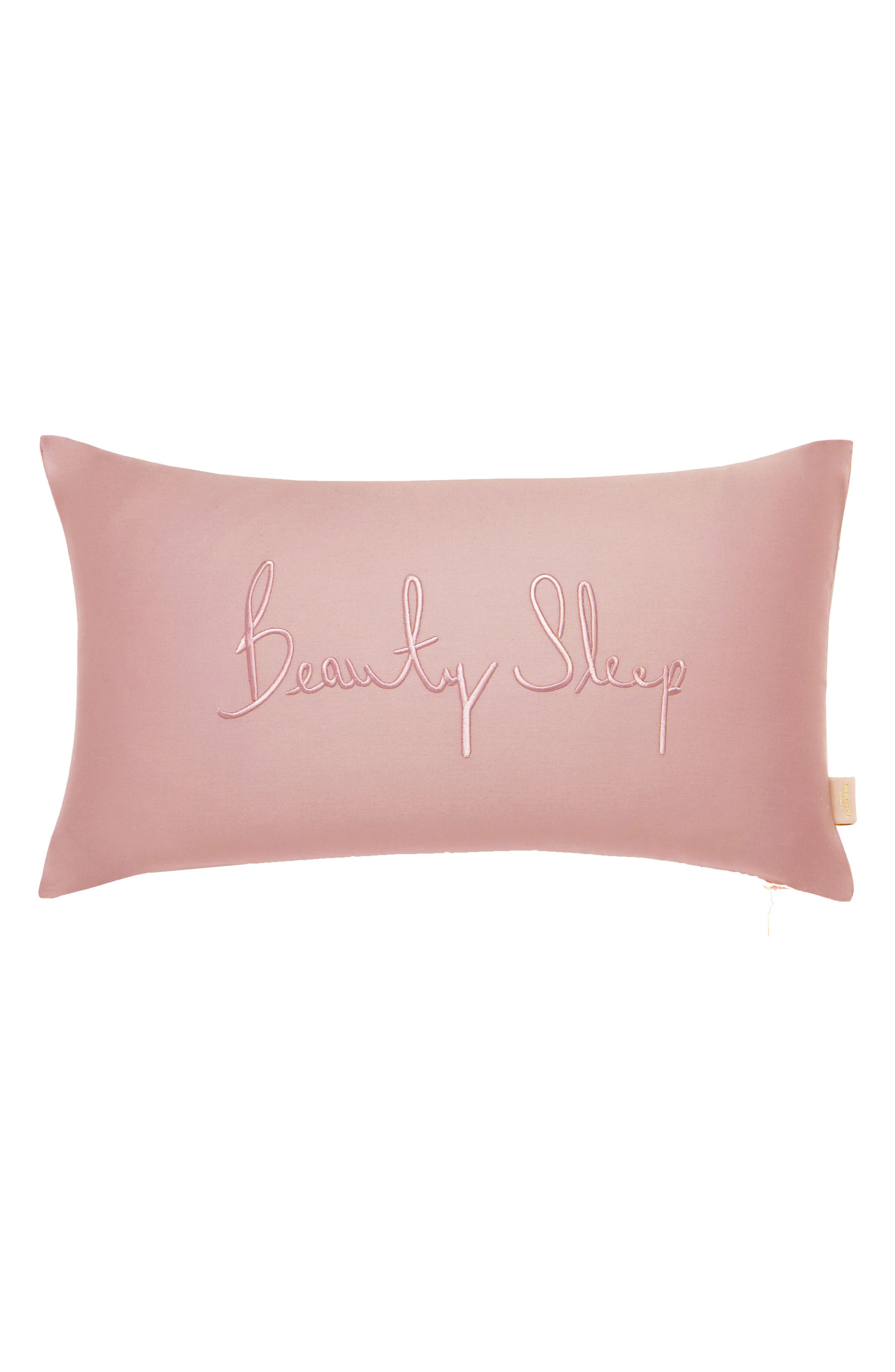 TED BAKER LONDON,                             Beauty Sleep Accent Pillows,                             Main thumbnail 1, color,                             PINK