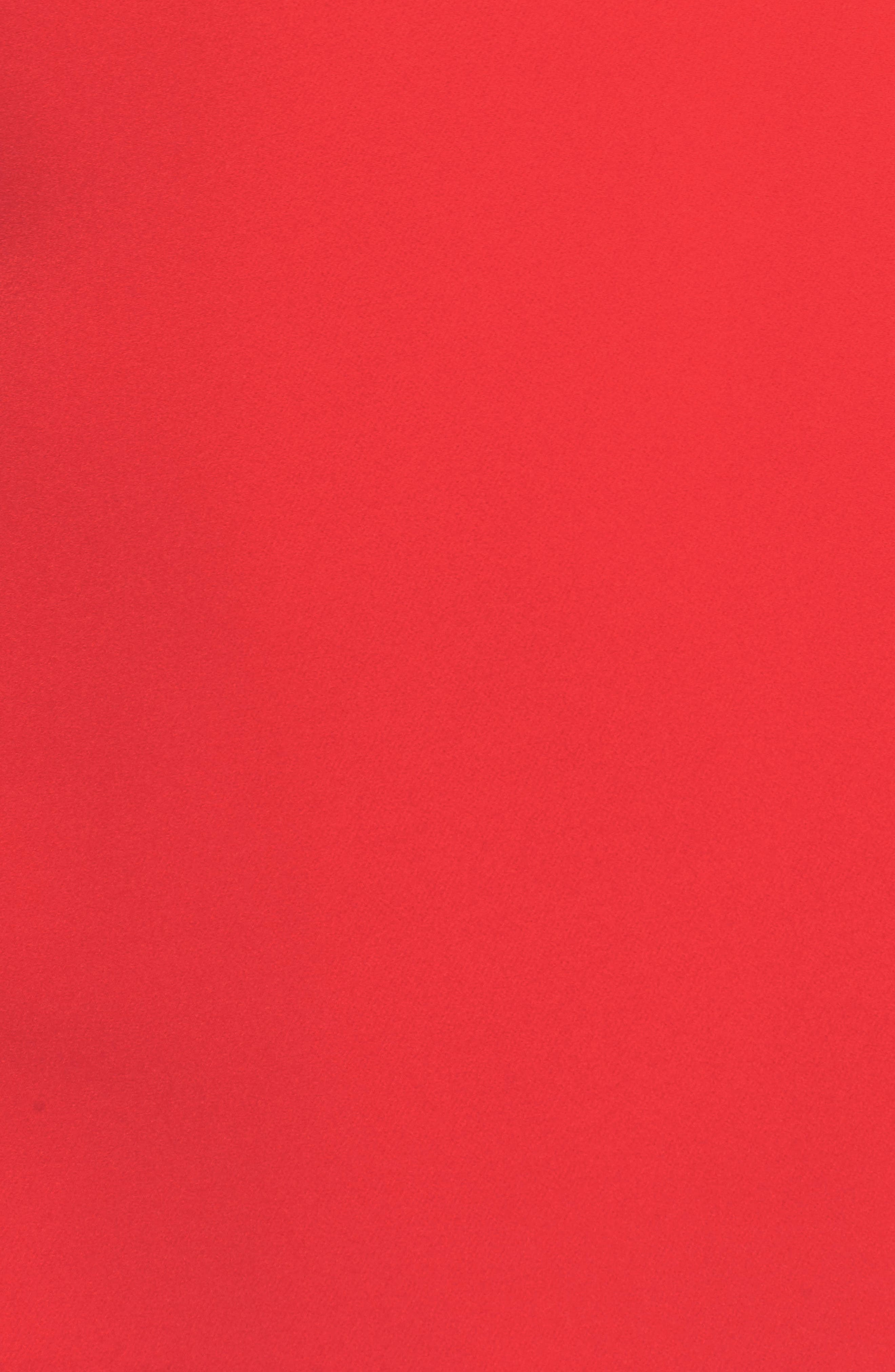 Cape Sleeve Minidress,                             Alternate thumbnail 6, color,                             610