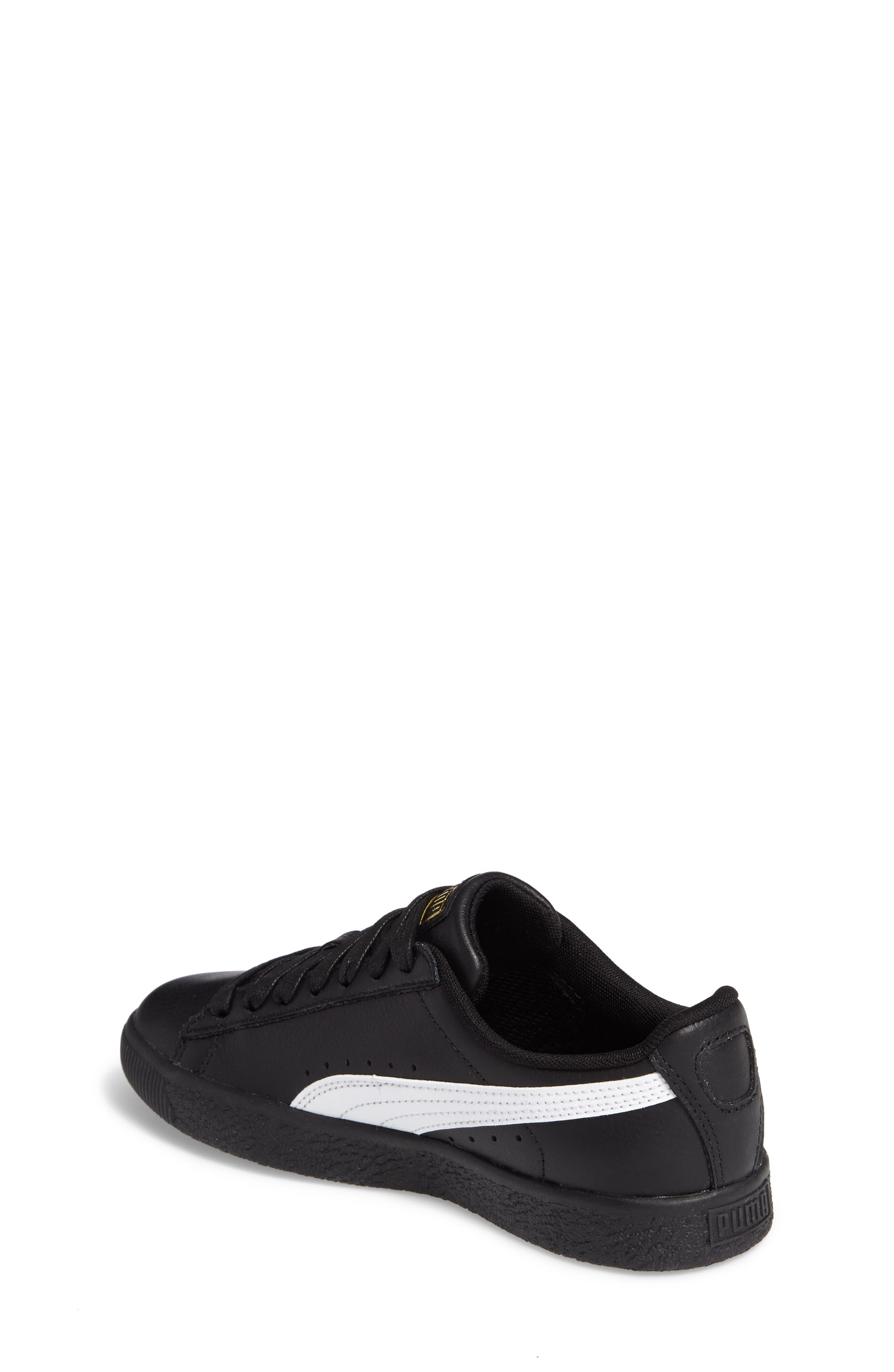 Clyde Core Foil Sneaker,                             Alternate thumbnail 2, color,                             001