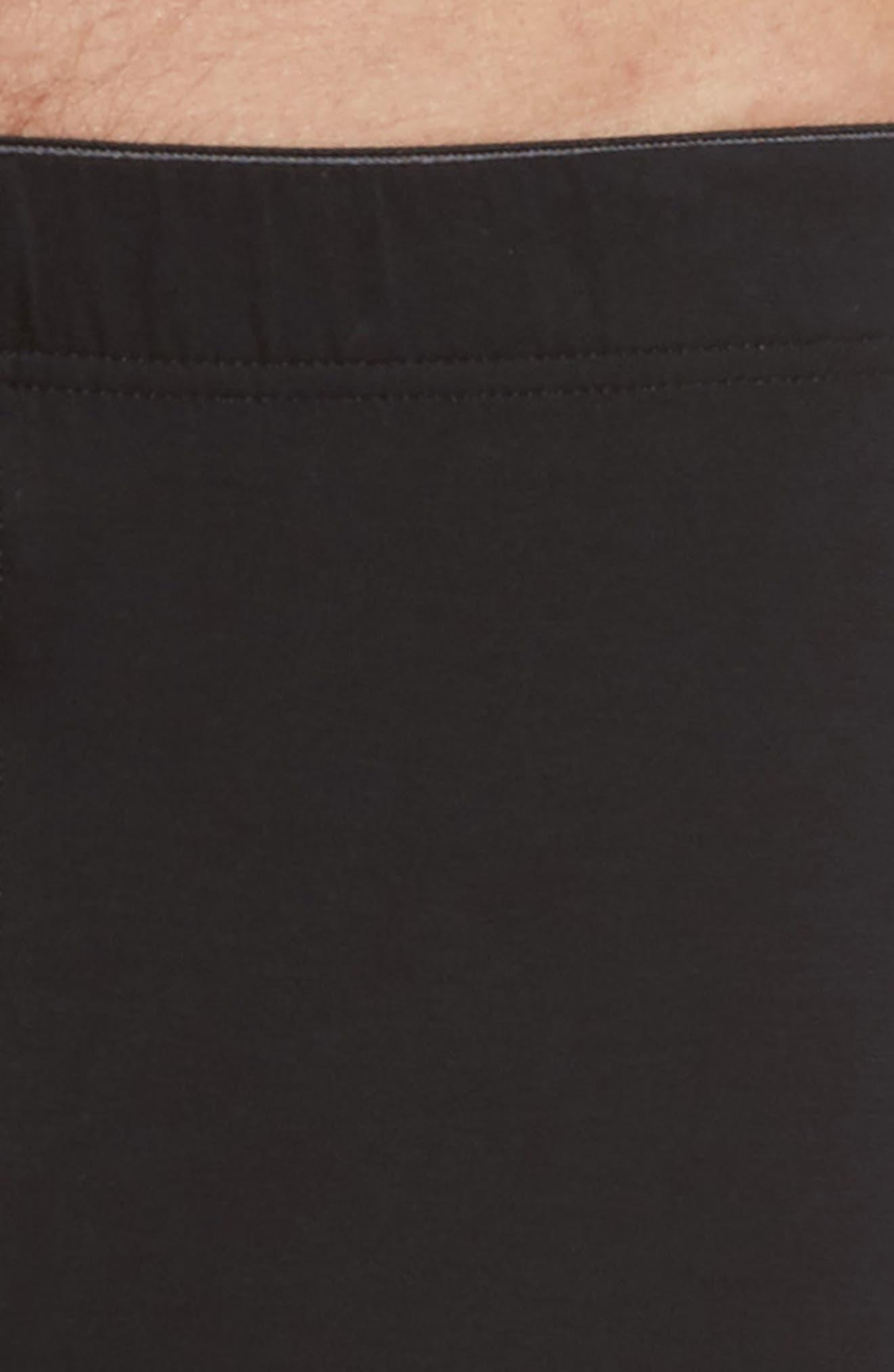 Cotton Superior Boxer Briefs,                             Alternate thumbnail 4, color,                             BLACK