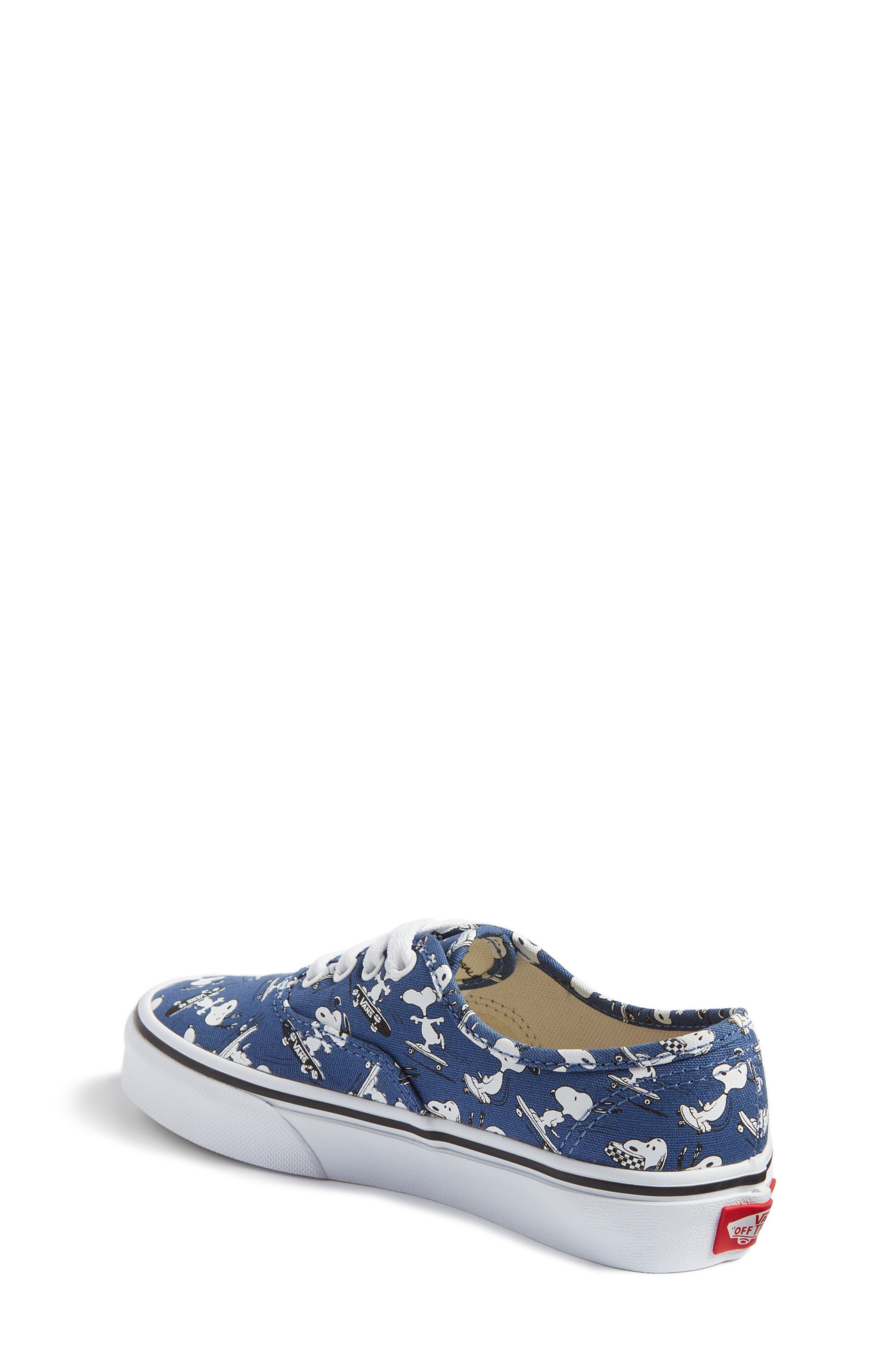 x Peanuts Authentic Sneaker,                             Alternate thumbnail 2, color,                             400
