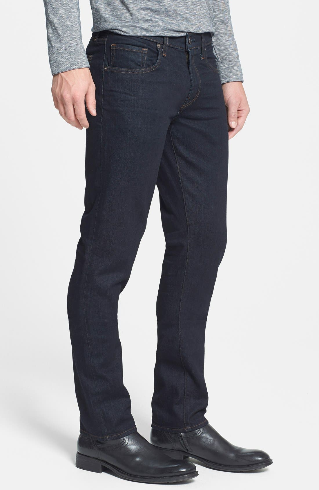 'Tyler' Slim Fit Coated Jeans,                             Alternate thumbnail 2, color,                             412
