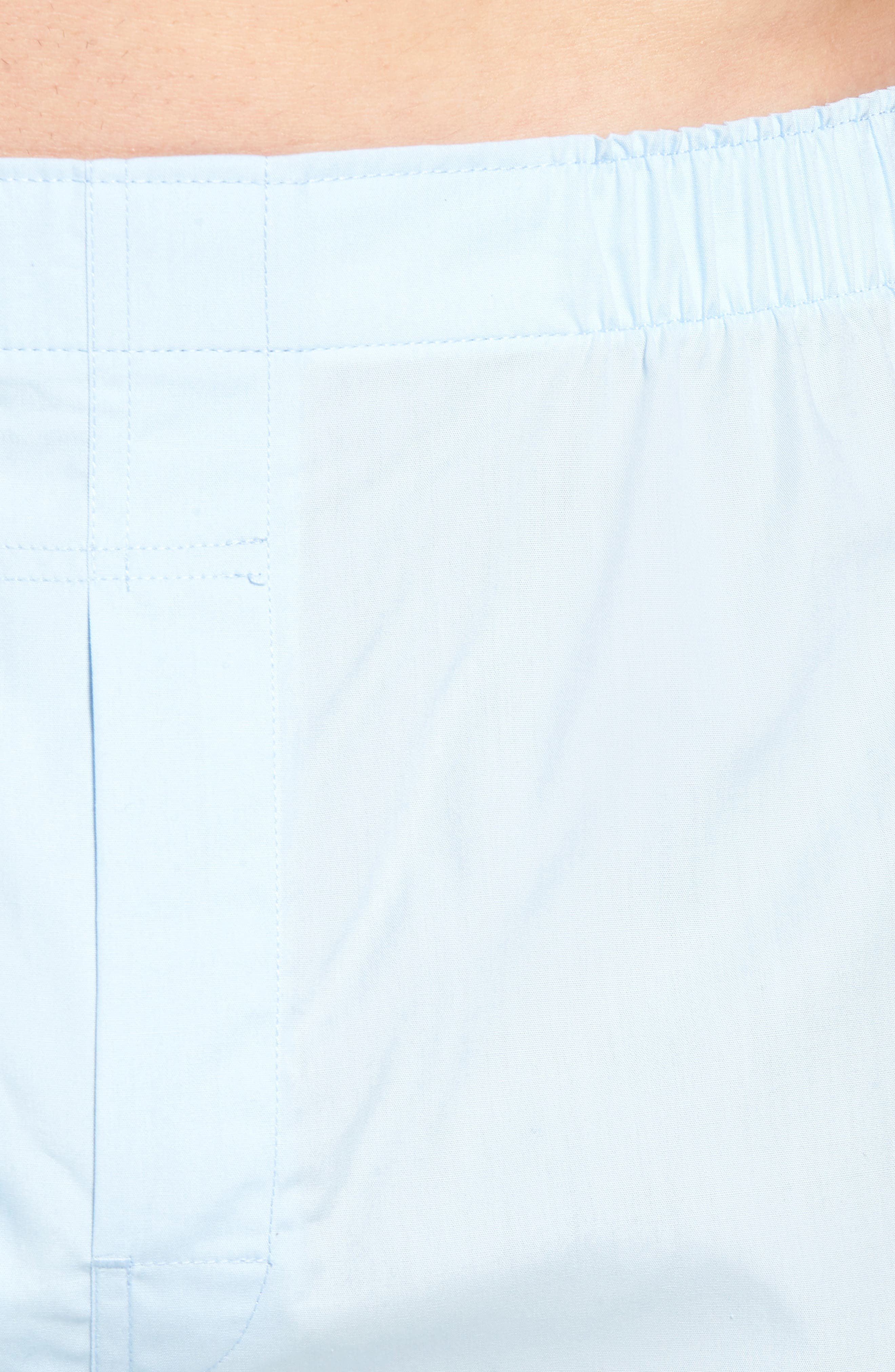 3-Pack Cotton Boxers,                             Alternate thumbnail 5, color,                             WHITE/ LIGHT BLUE/ CRUISE NAVY