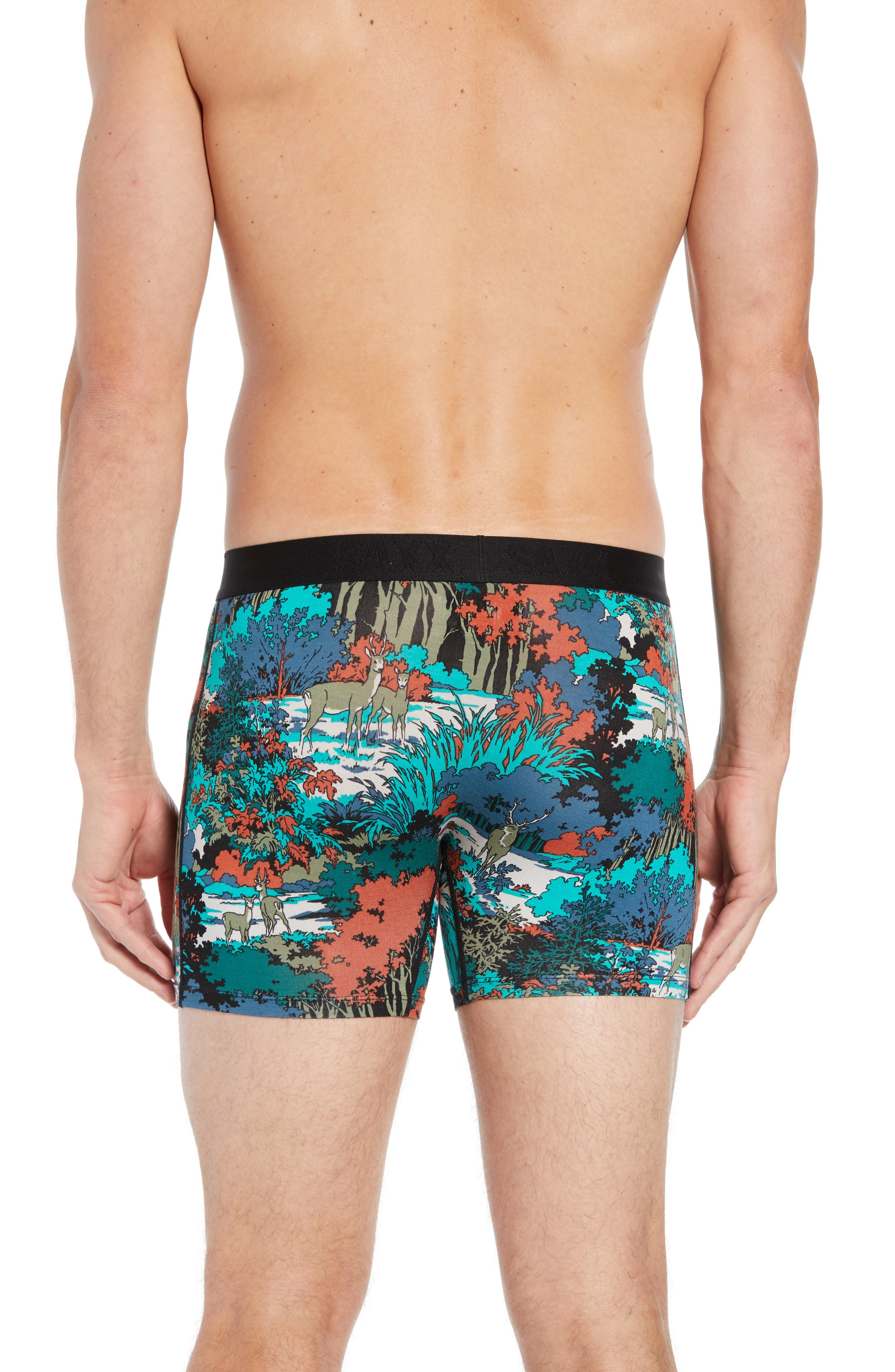 Vibe Deep Woods Trunks,                             Alternate thumbnail 2, color,                             TEAL DEEP WOODS