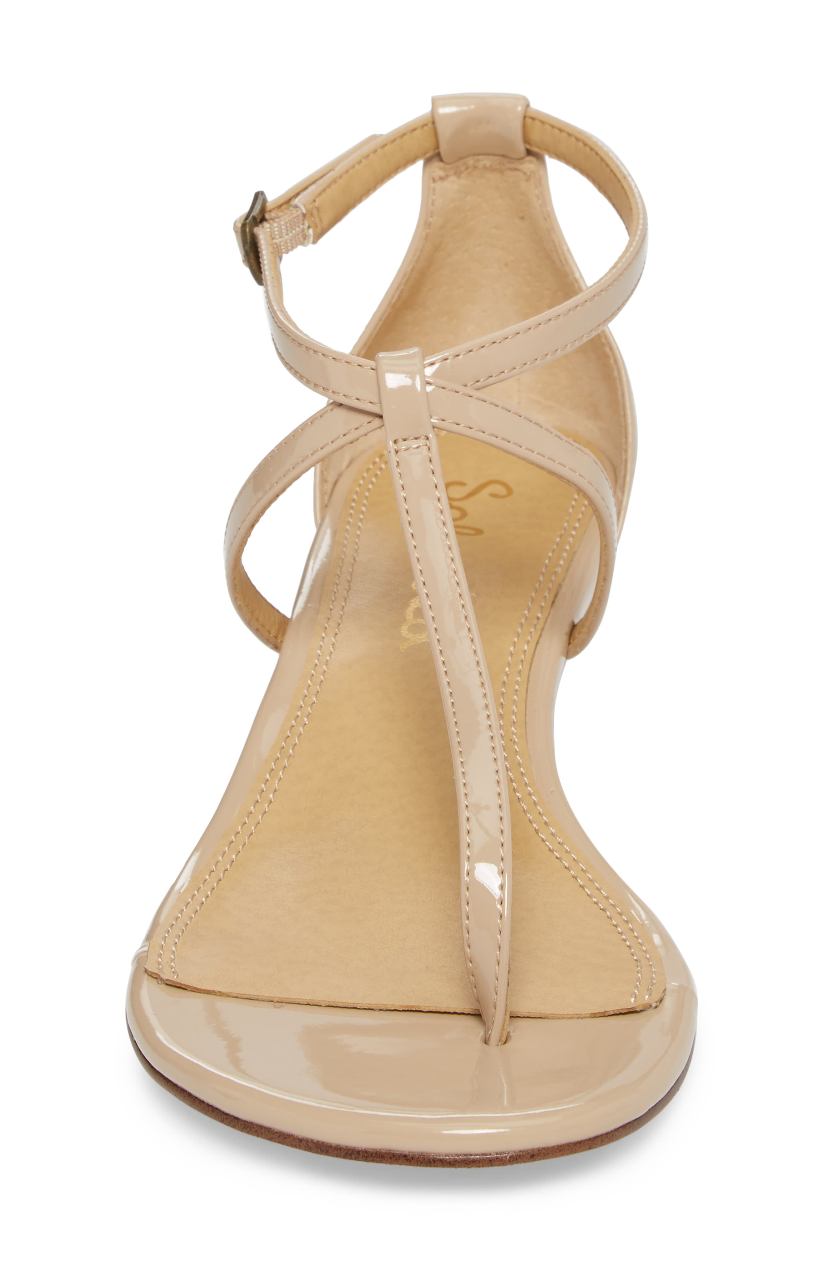 Bryce T-Strap Wedge Sandal,                             Alternate thumbnail 21, color,