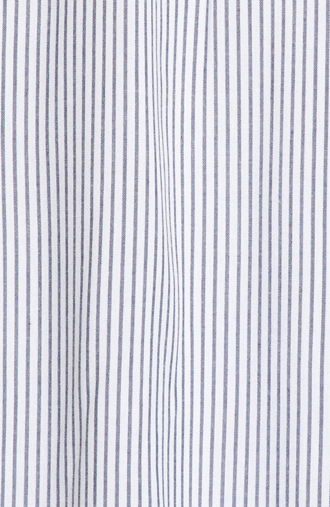 Ruffle Cold Shoulder Dress,                             Alternate thumbnail 3, color,                             100
