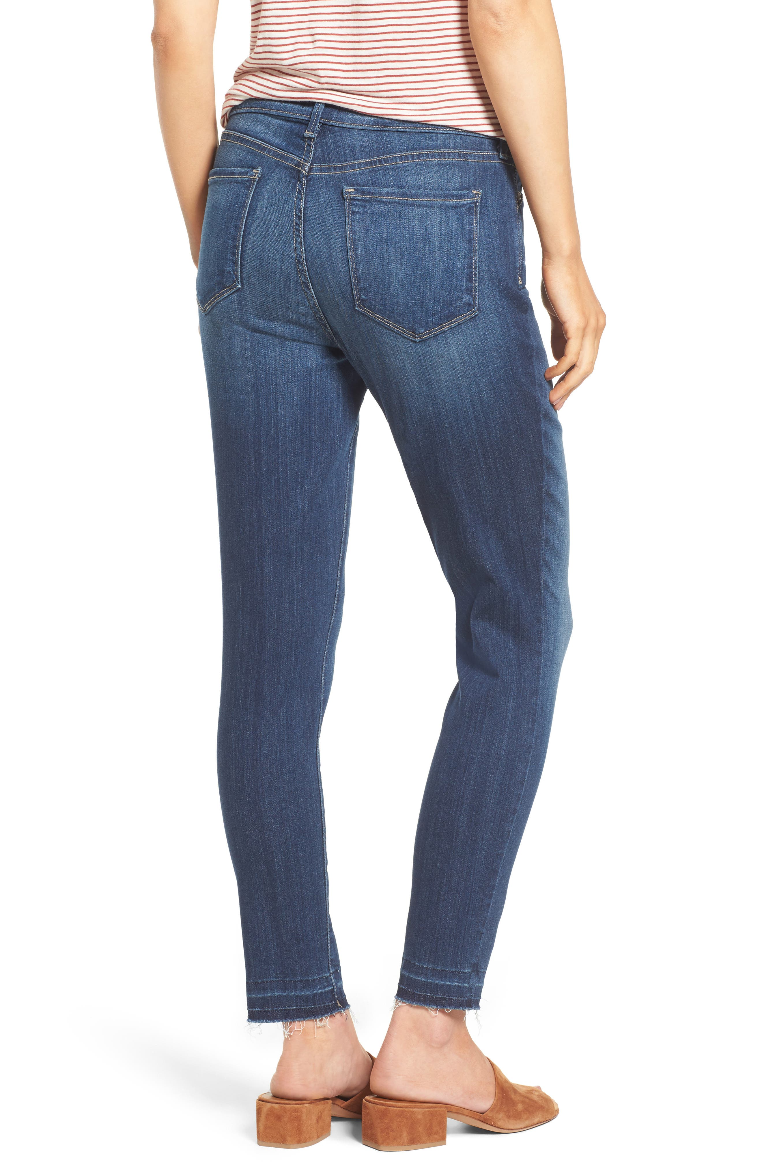 Ami Release Hem Stretch Skinny Jeans,                             Alternate thumbnail 2, color,                             464