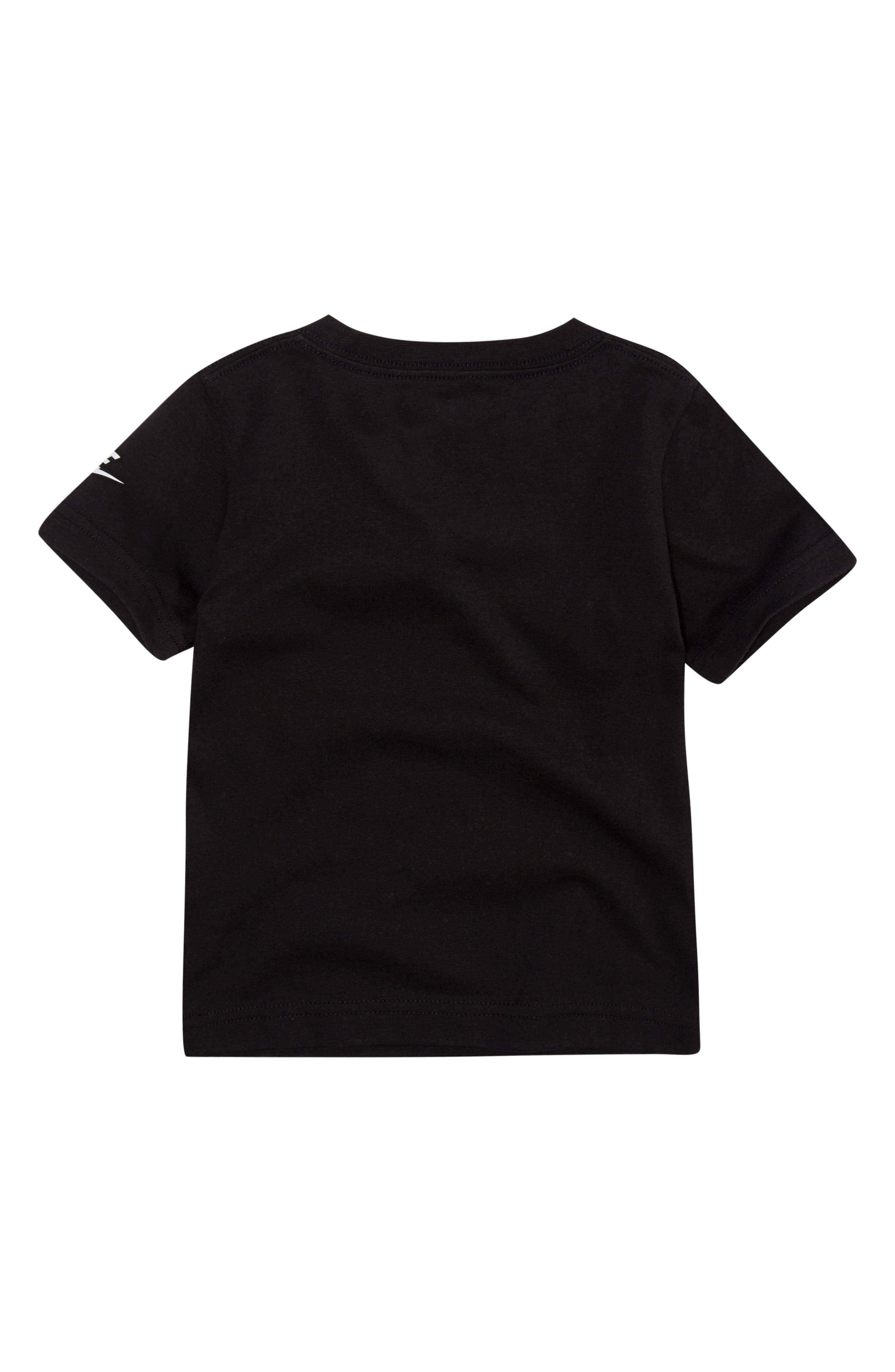 Dry Geo Multi Futura Graphic T-Shirt,                             Alternate thumbnail 3, color,                             BLACK
