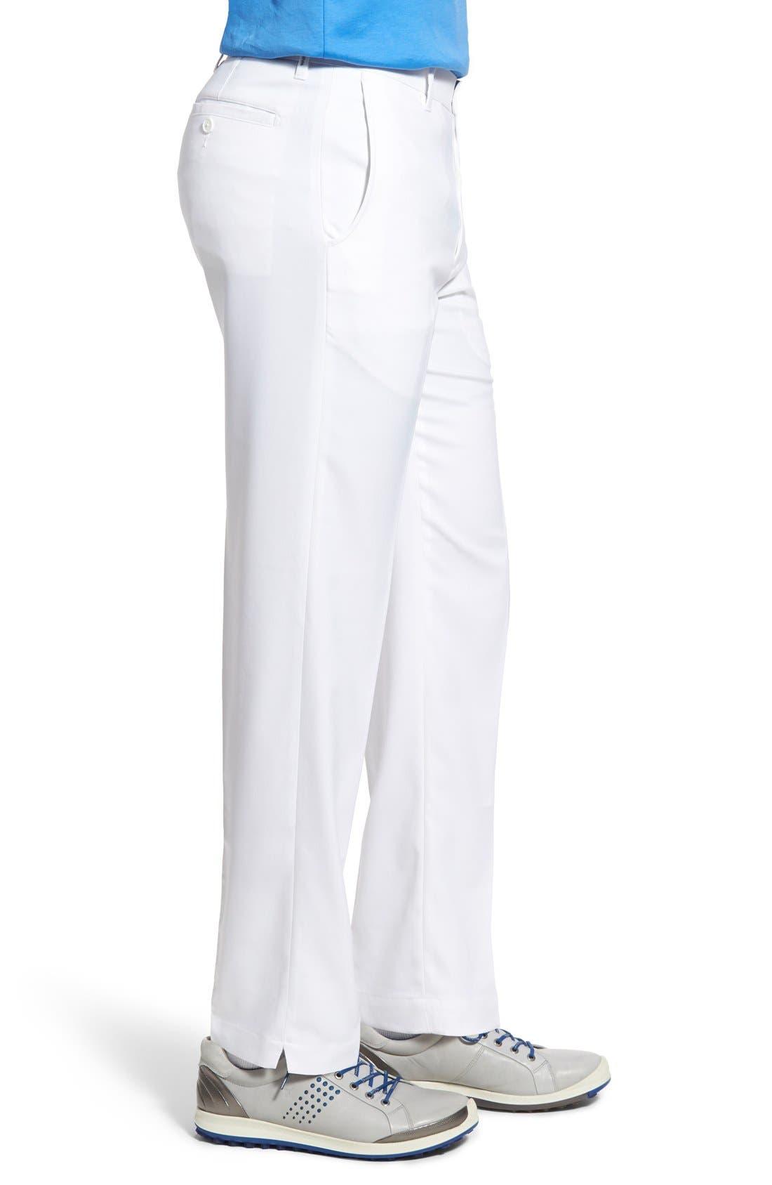 'Tech' Flat Front Wrinkle Free Golf Pants,                             Alternate thumbnail 9, color,