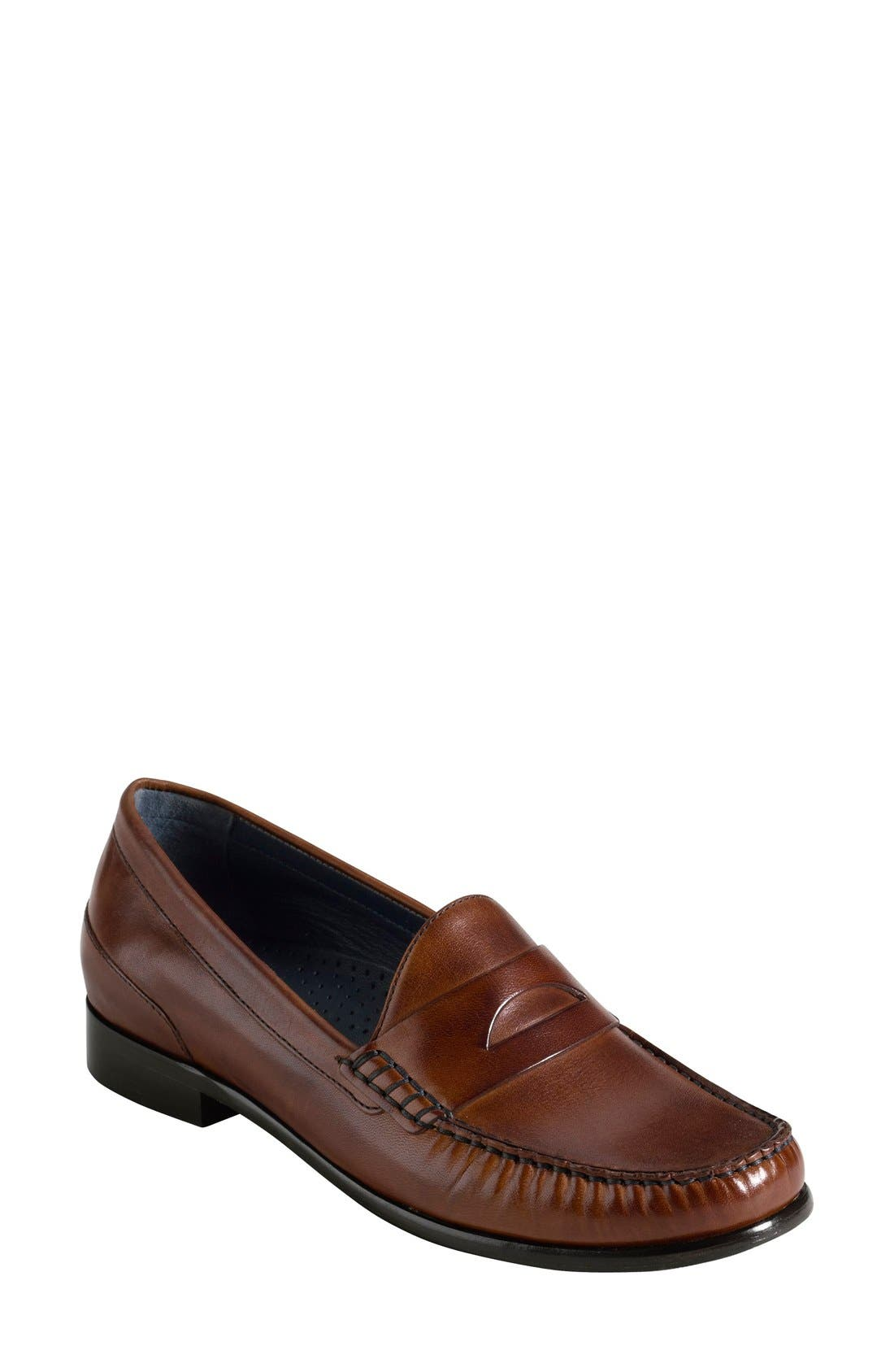 'Laurel' Moc Loafer,                             Main thumbnail 1, color,                             200