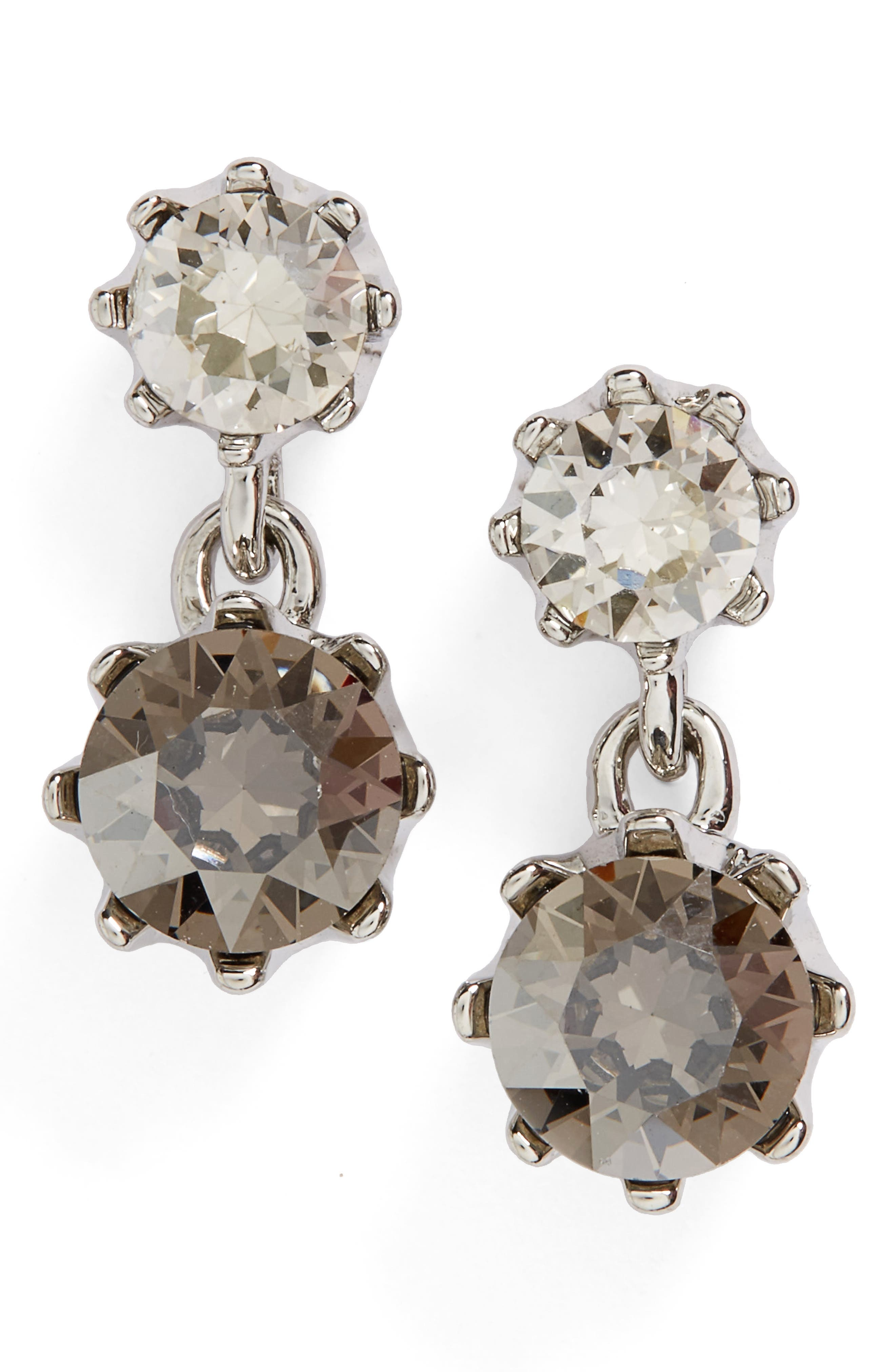 Ted Baker Conolle Crystal Drop Earrings,                             Main thumbnail 1, color,                             100