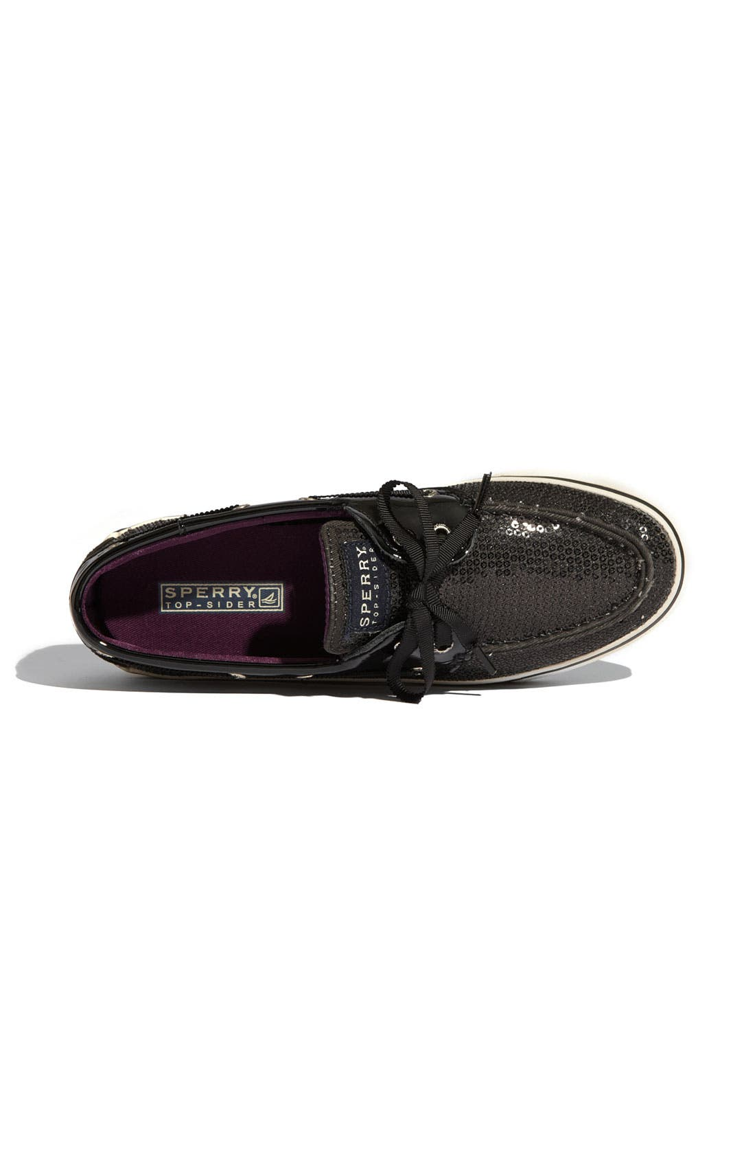 Top-Sider<sup>®</sup> 'Bahama' Sequined Boat Shoe,                             Alternate thumbnail 169, color,