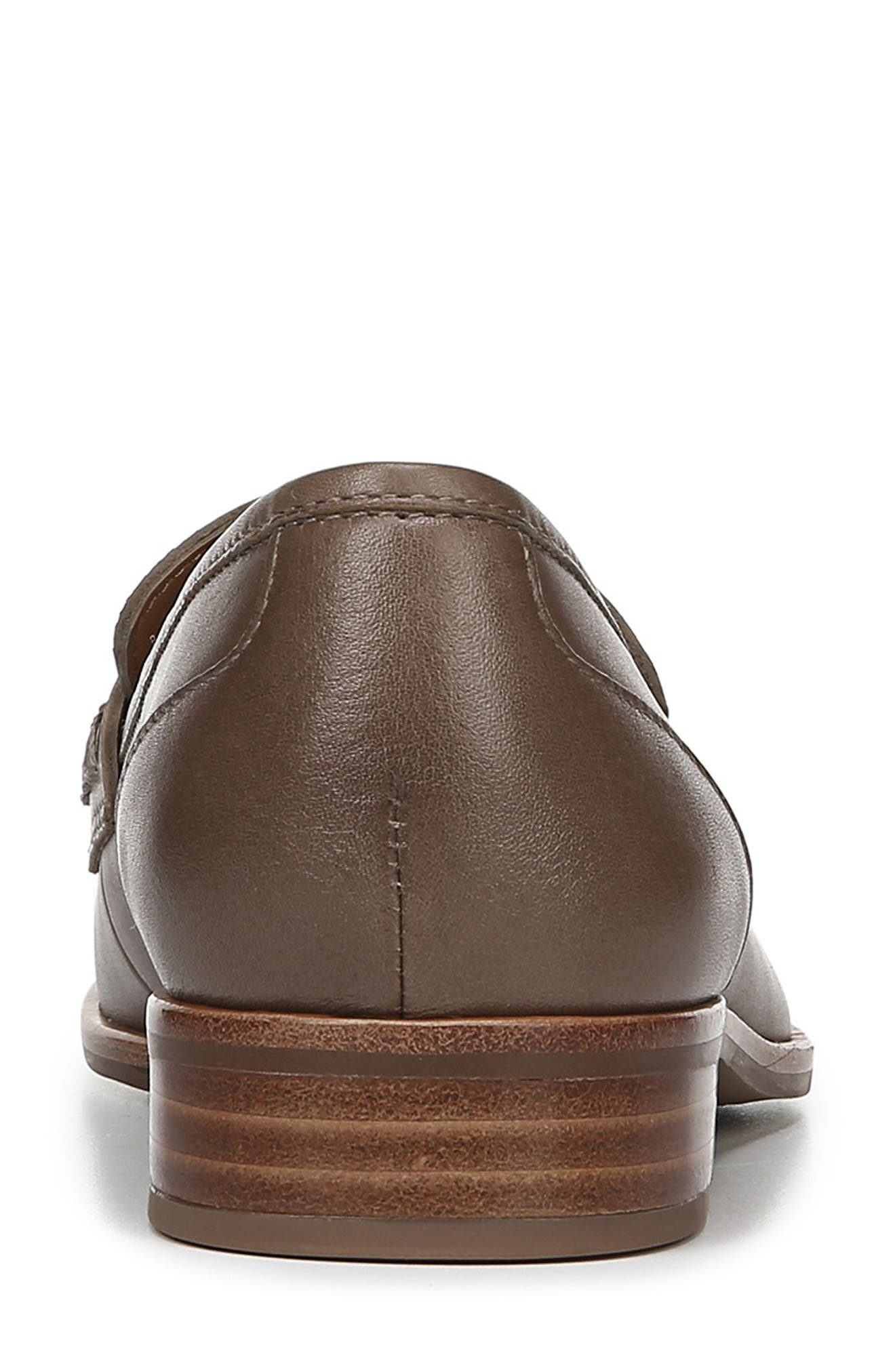 SARTO BY FRANCO SARTO,                             'Jolette' Penny Loafer,                             Alternate thumbnail 7, color,                             DARK PUTTY LEATHER