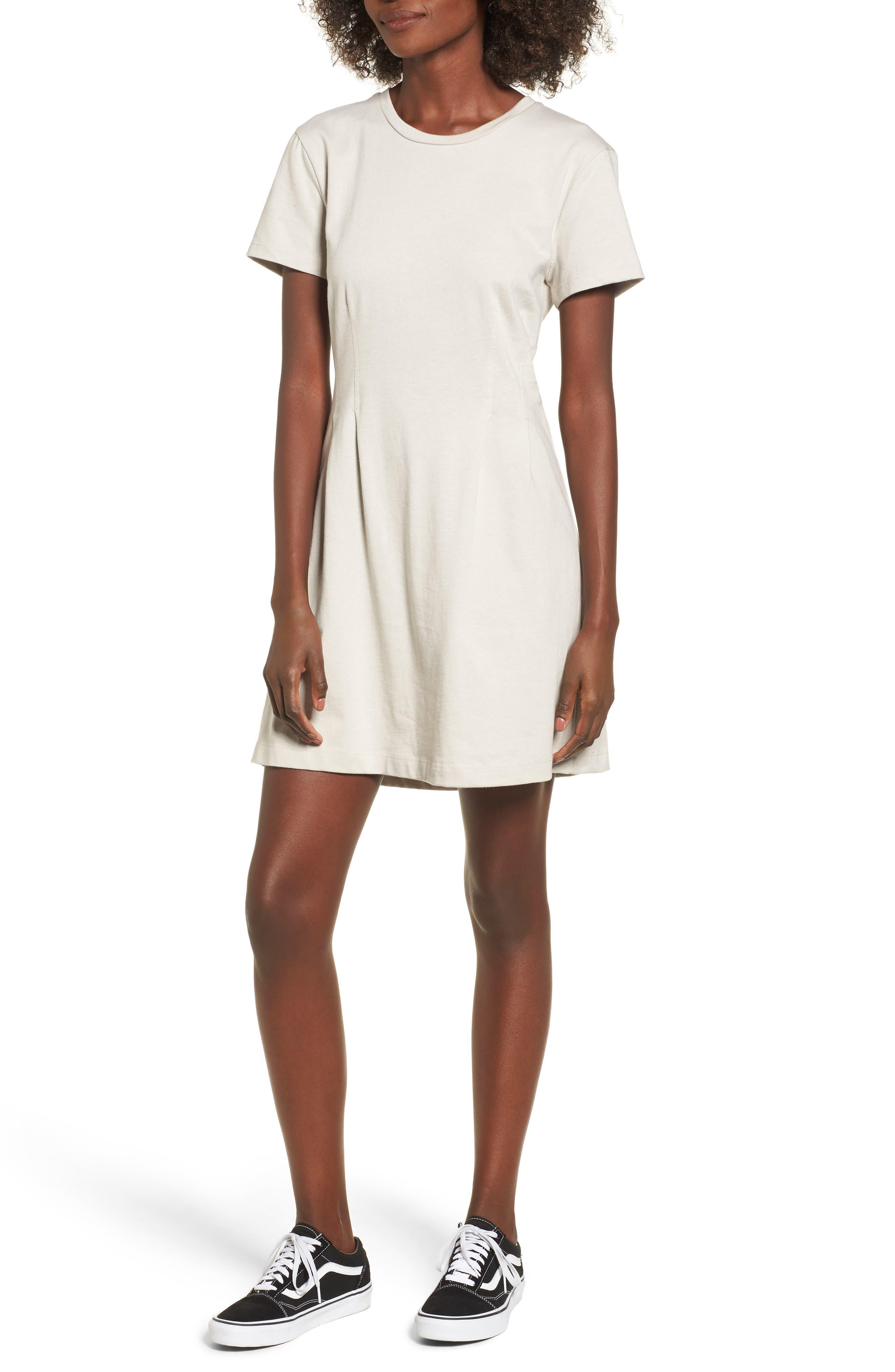 Cotton T-Shirt Dress,                             Main thumbnail 2, color,