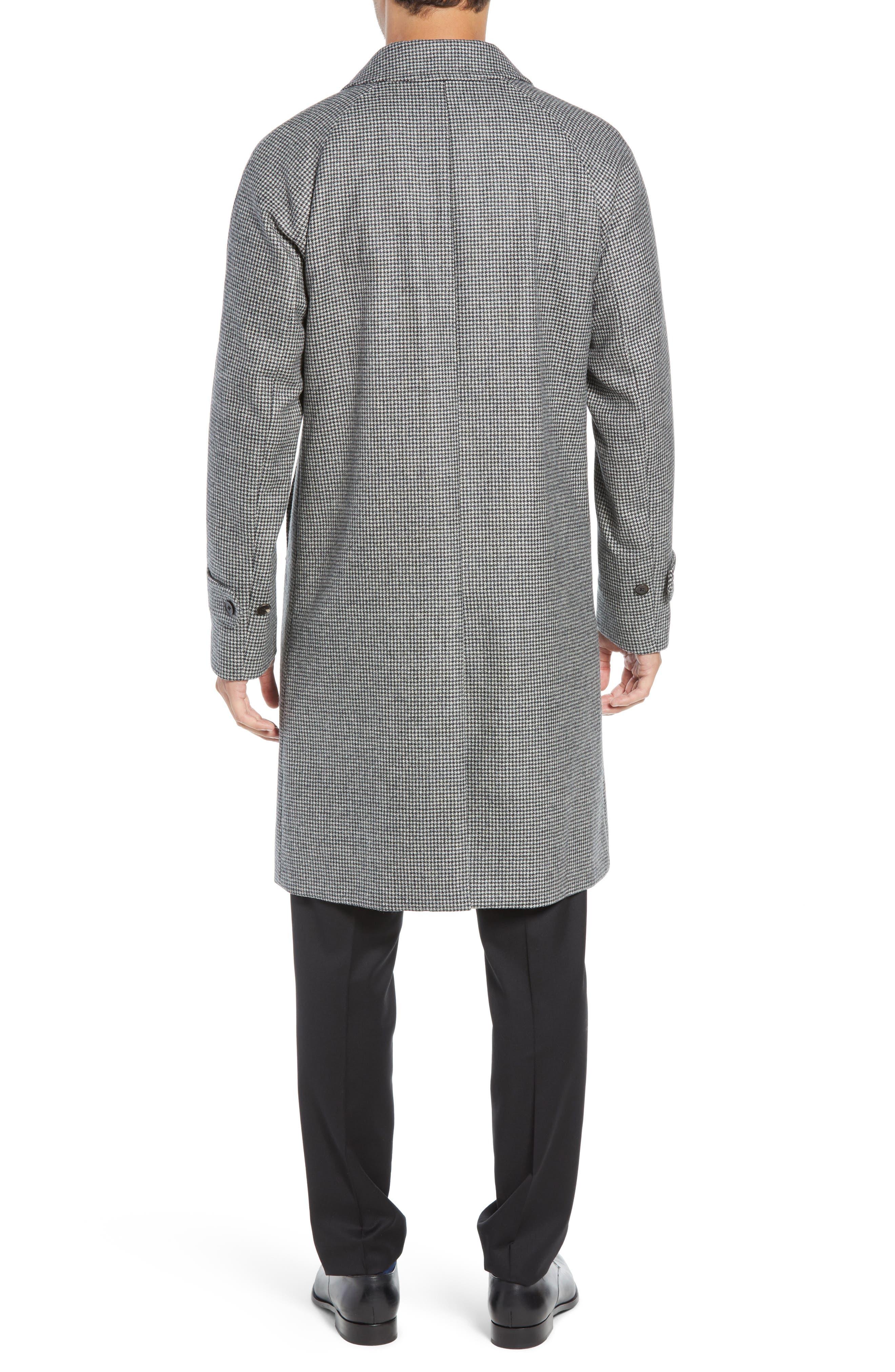 Wool Top Coat,                             Alternate thumbnail 2, color,                             GREY