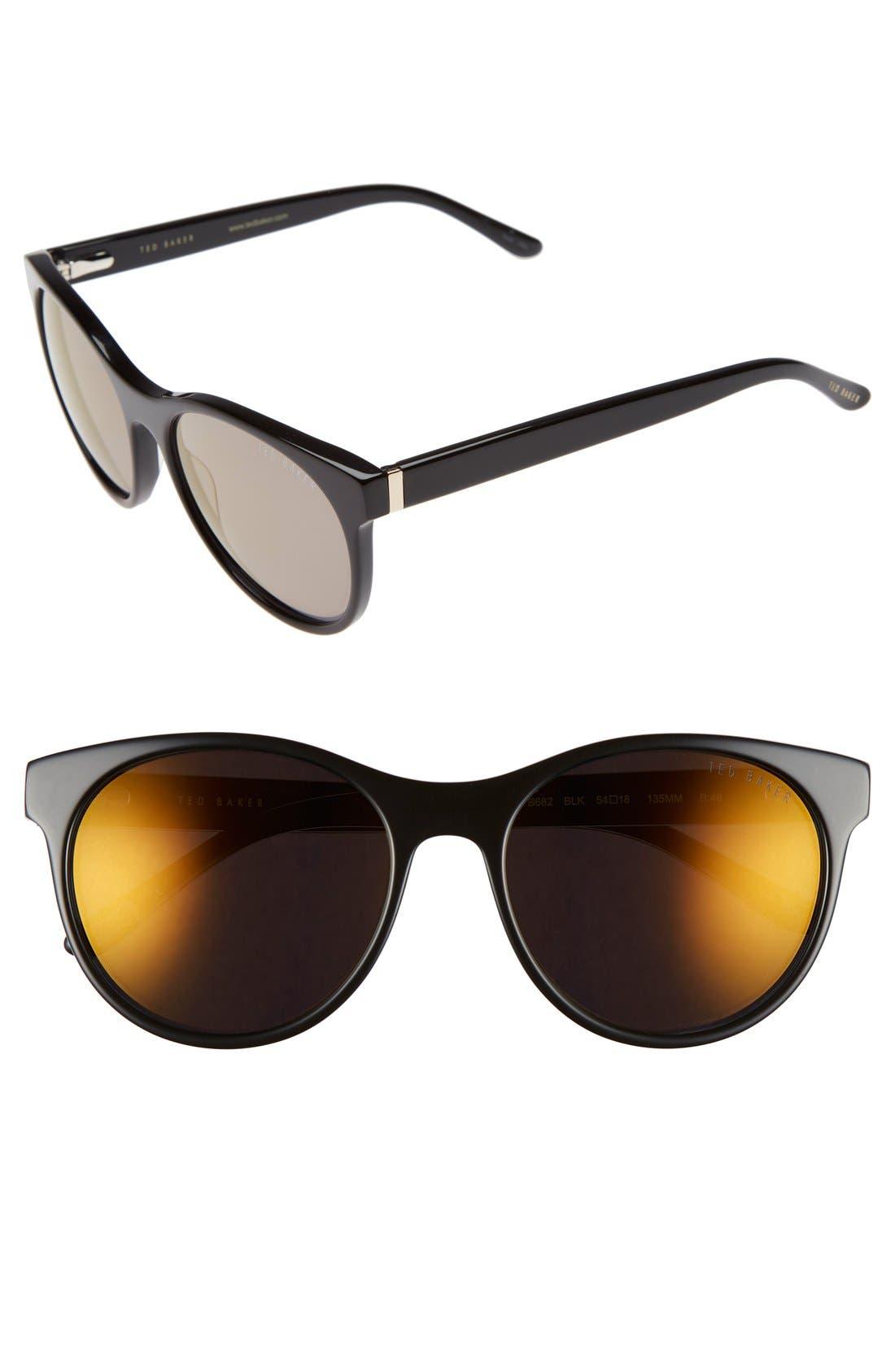 54mm Retro Sunglasses,                             Main thumbnail 2, color,