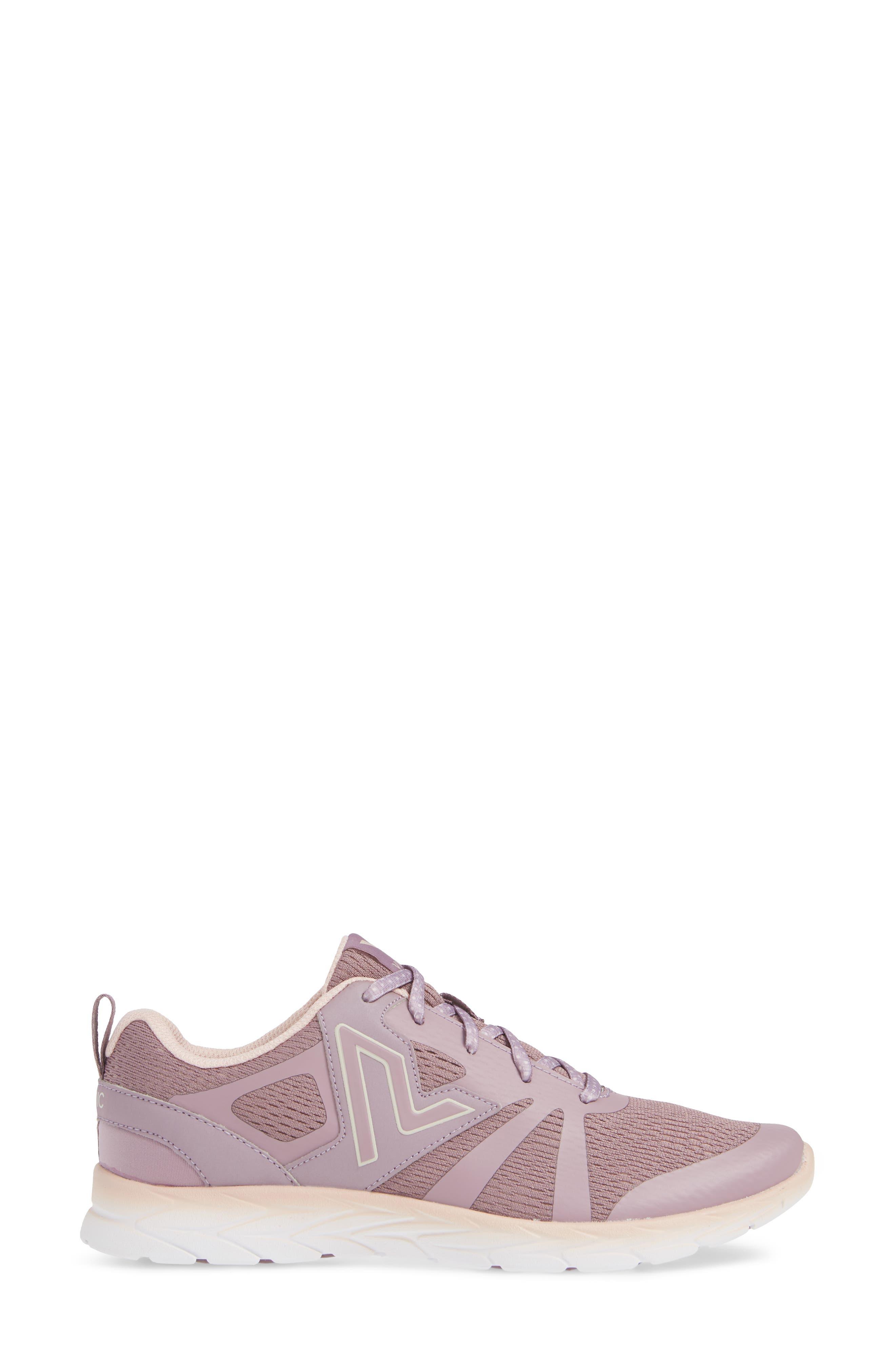 VIONIC,                             Brisk Miles Sneaker,                             Alternate thumbnail 3, color,                             MAUVE