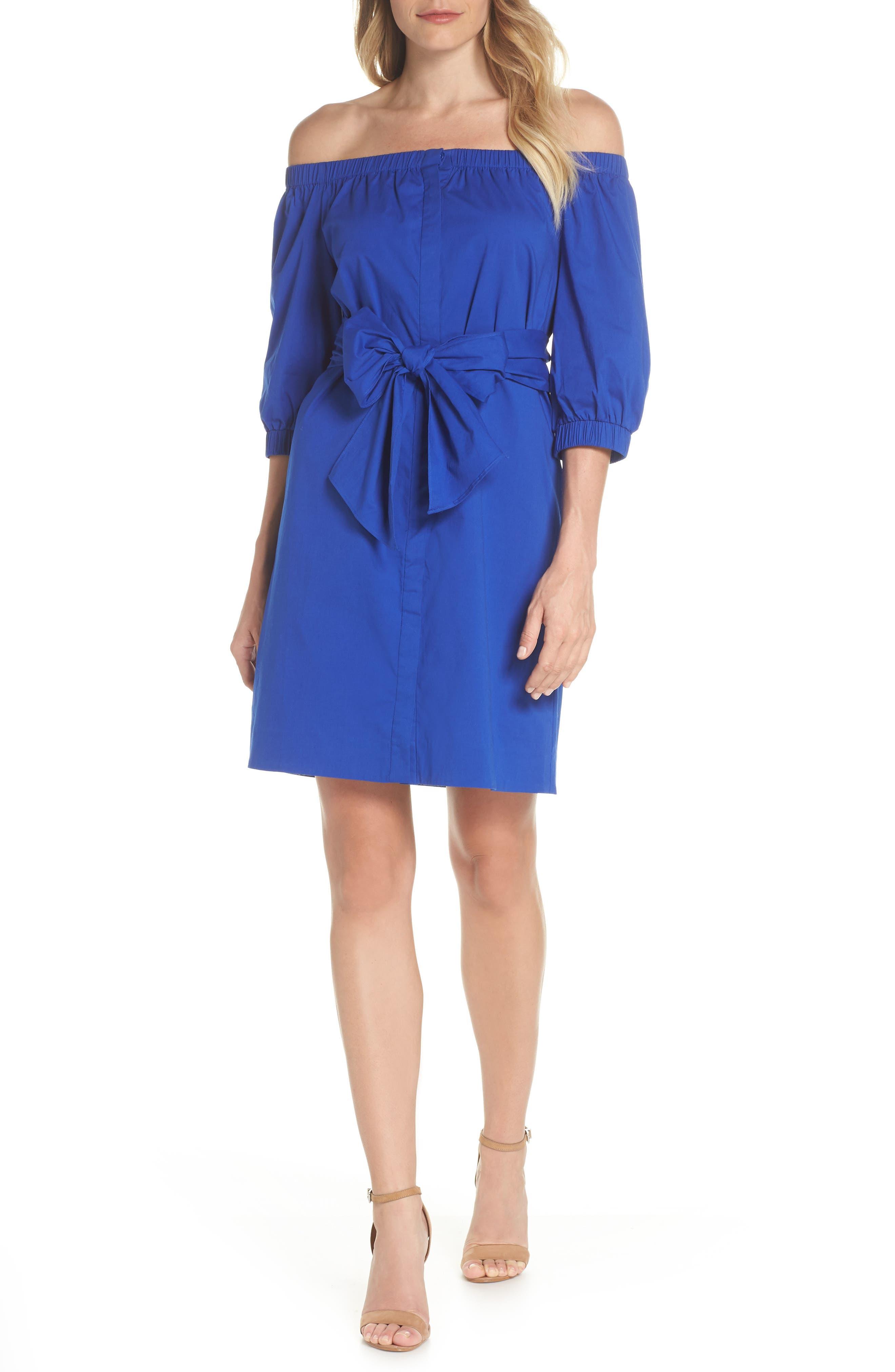 Off the Shoulder Minidress,                         Main,                         color, 461