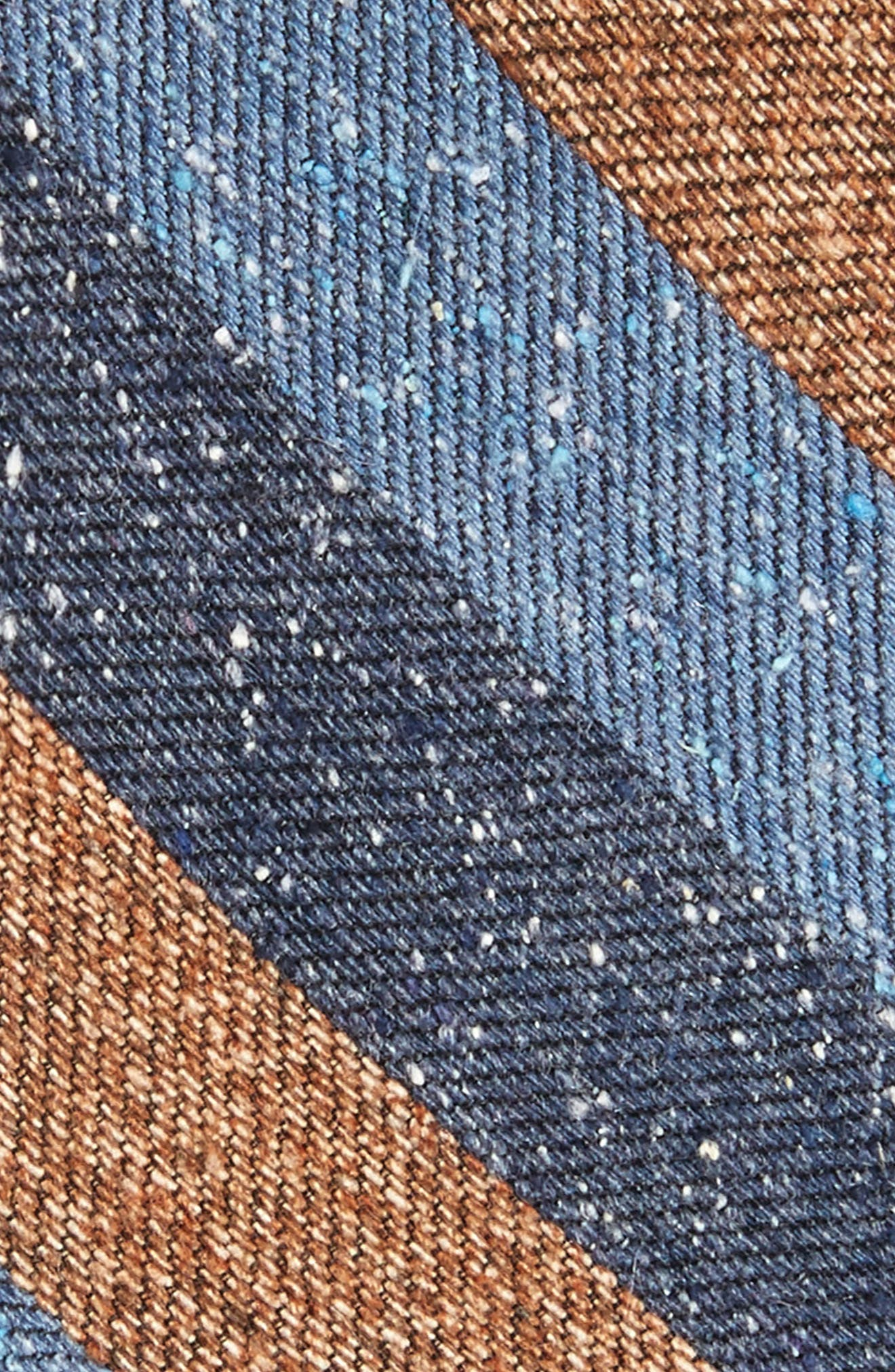 Varios Stripe Silk Skinny Tie,                             Alternate thumbnail 5, color,