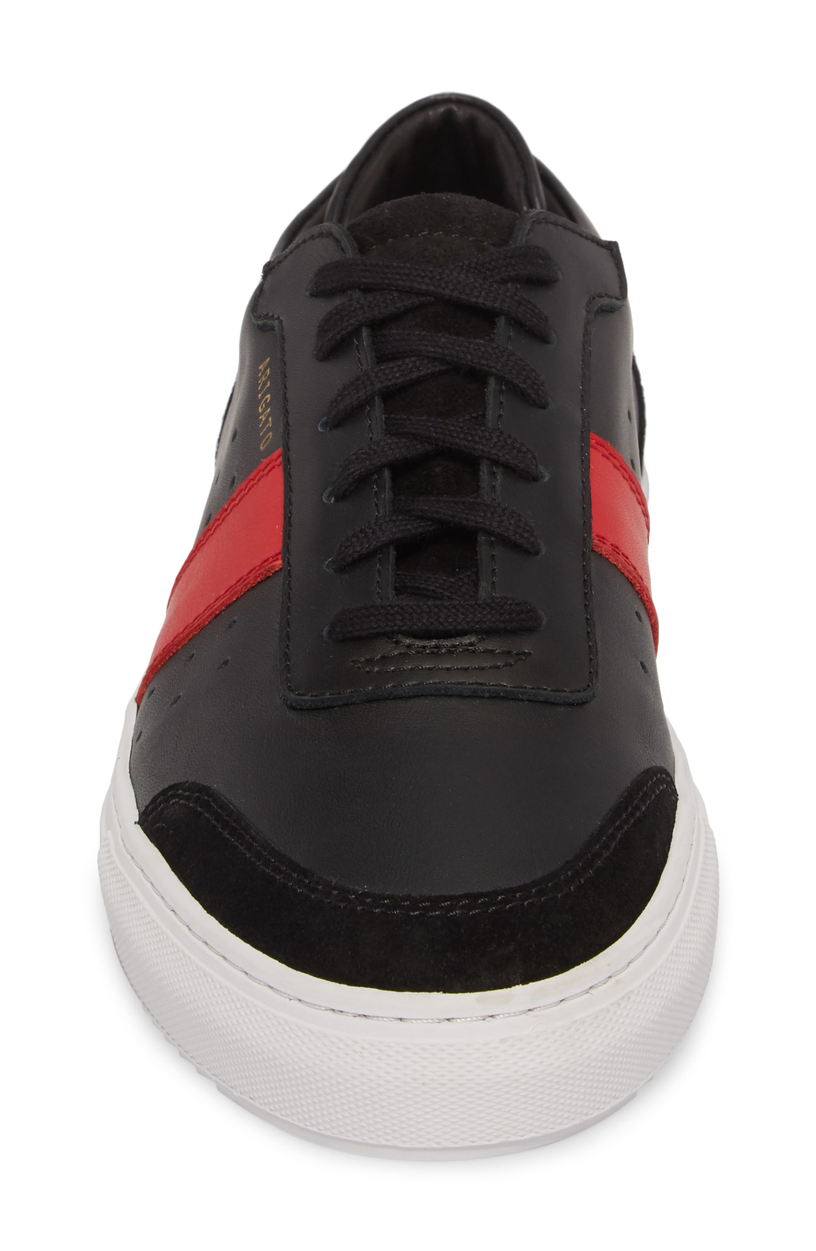 Dunk Sneaker,                             Alternate thumbnail 4, color,                             BLACK/ BLACK