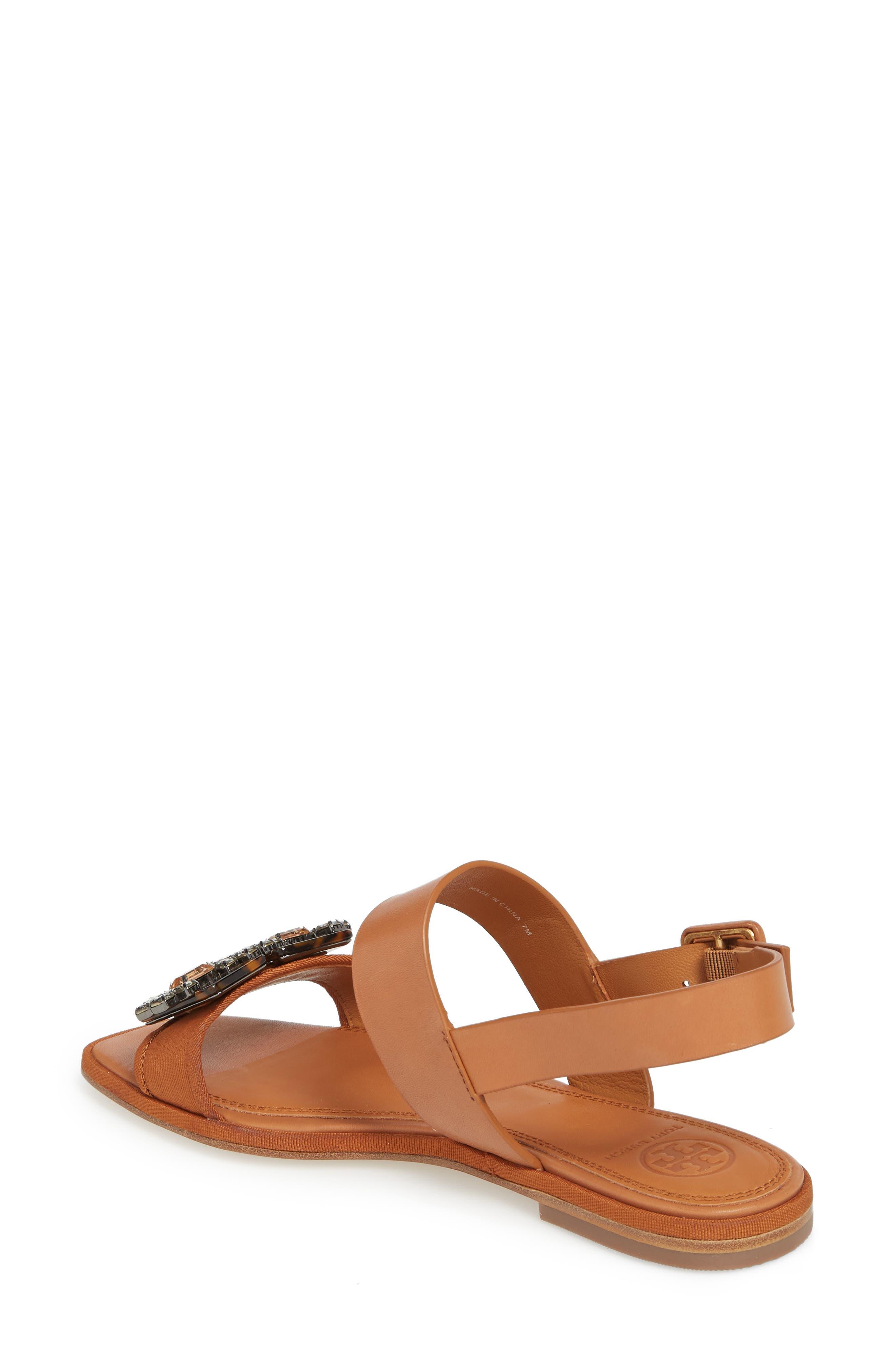 Delaney Embellished Double Strap Sandal,                             Alternate thumbnail 2, color,                             210