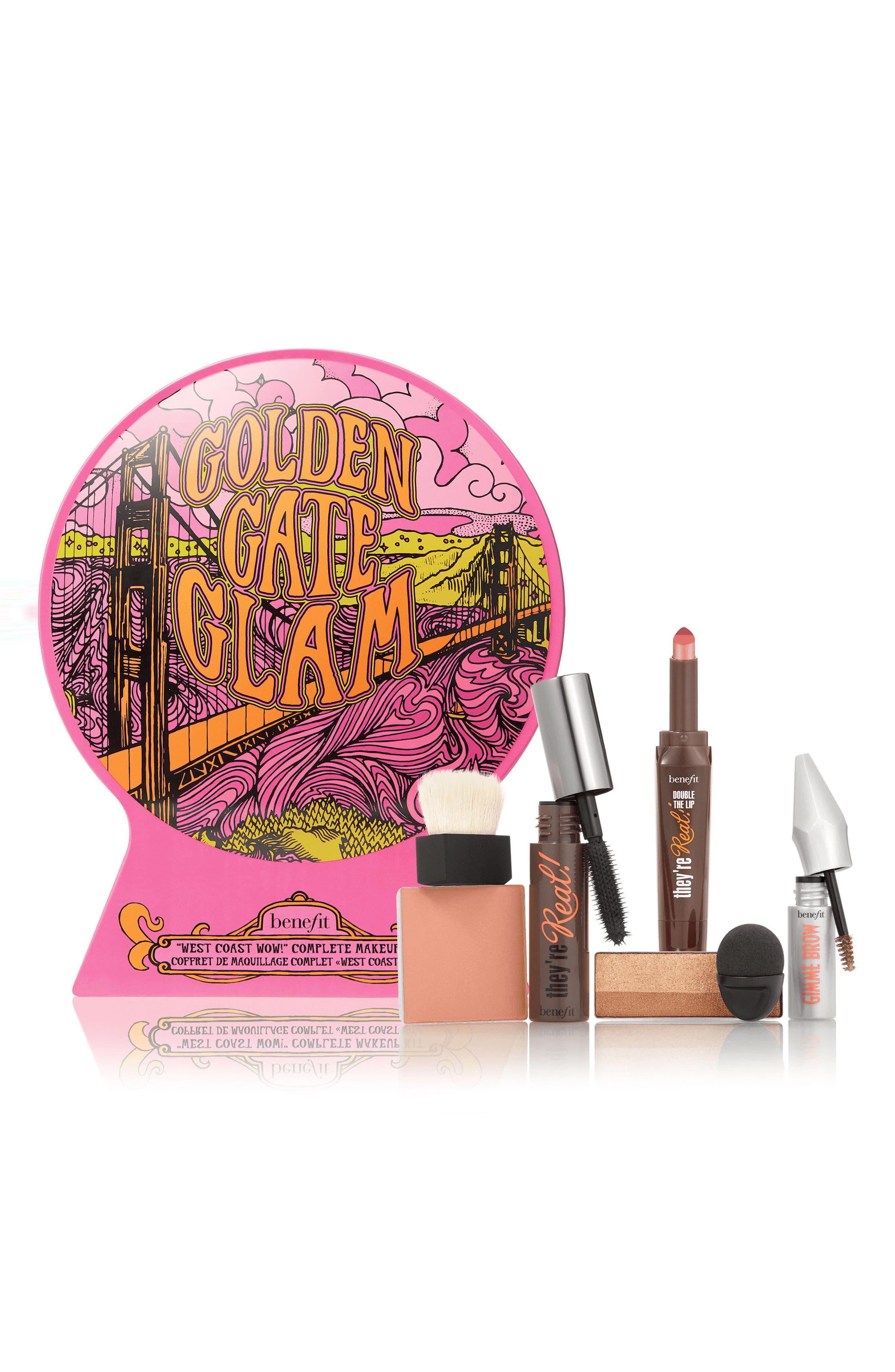 Benefit Golden Gate Glam Complete Makeup Kit,                         Main,                         color, 000