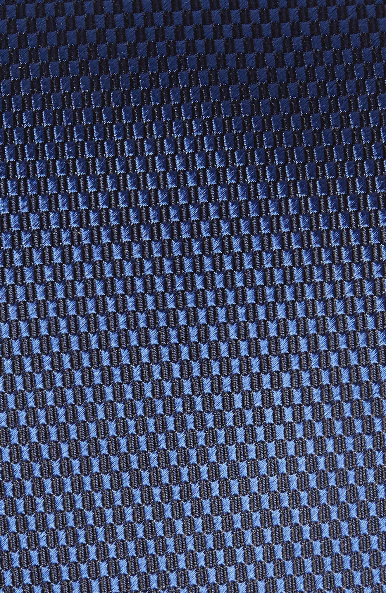 Solid Silk Tie,                             Alternate thumbnail 2, color,                             NAVY