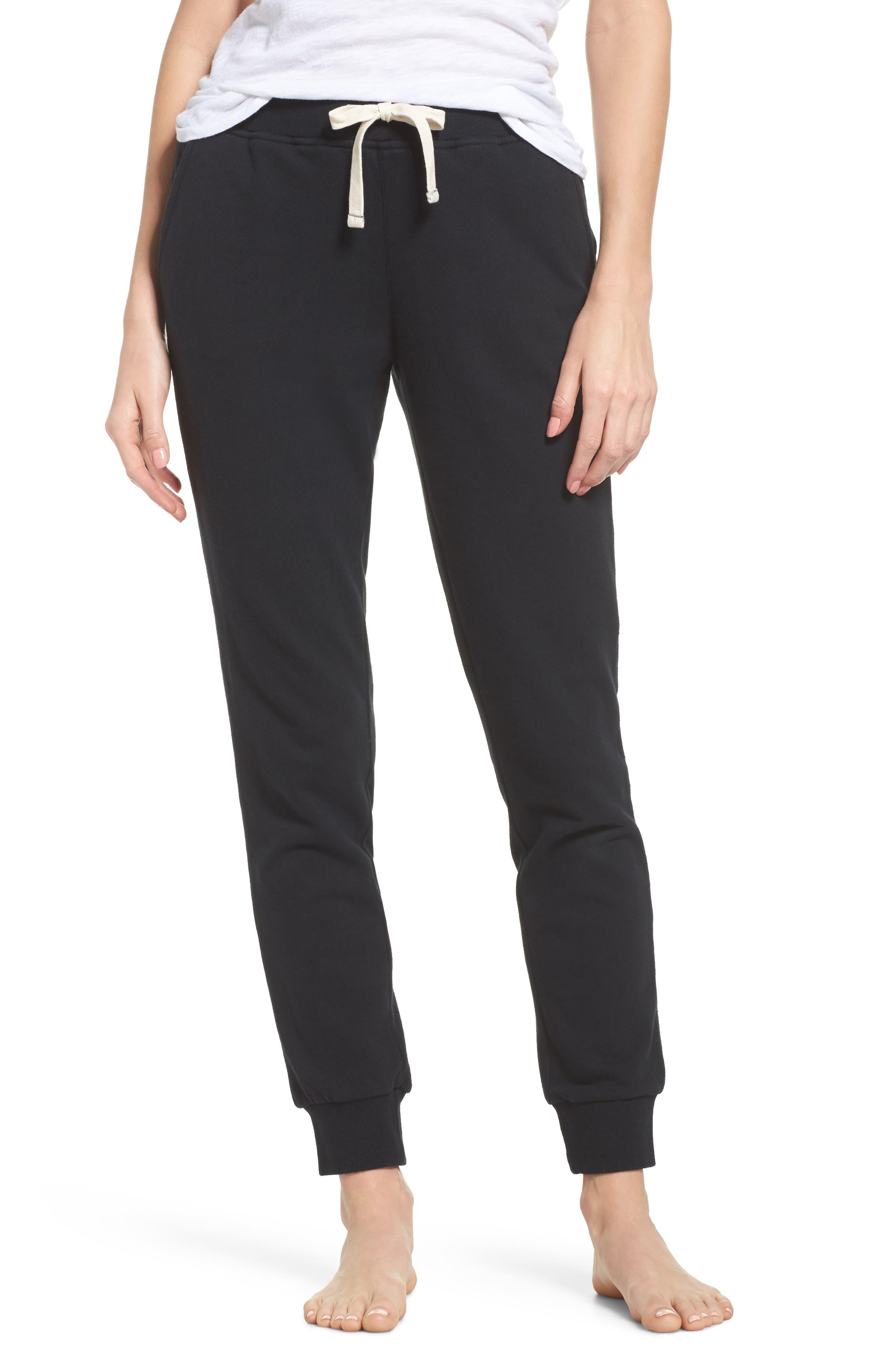 Babe Jogger Pants,                         Main,                         color, BLACK