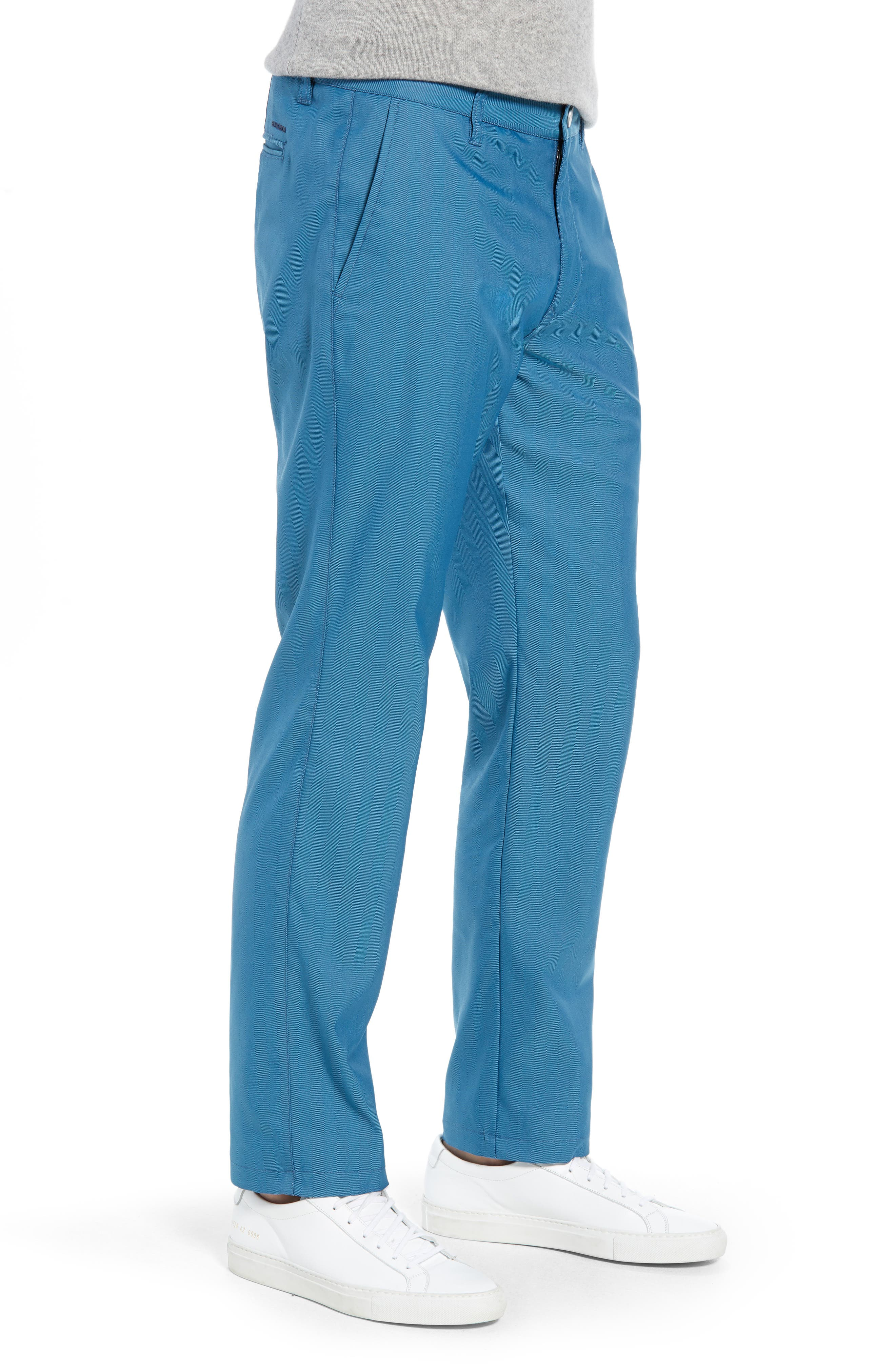 Highland Slim Fit Golf Pants,                             Alternate thumbnail 3, color,                             400