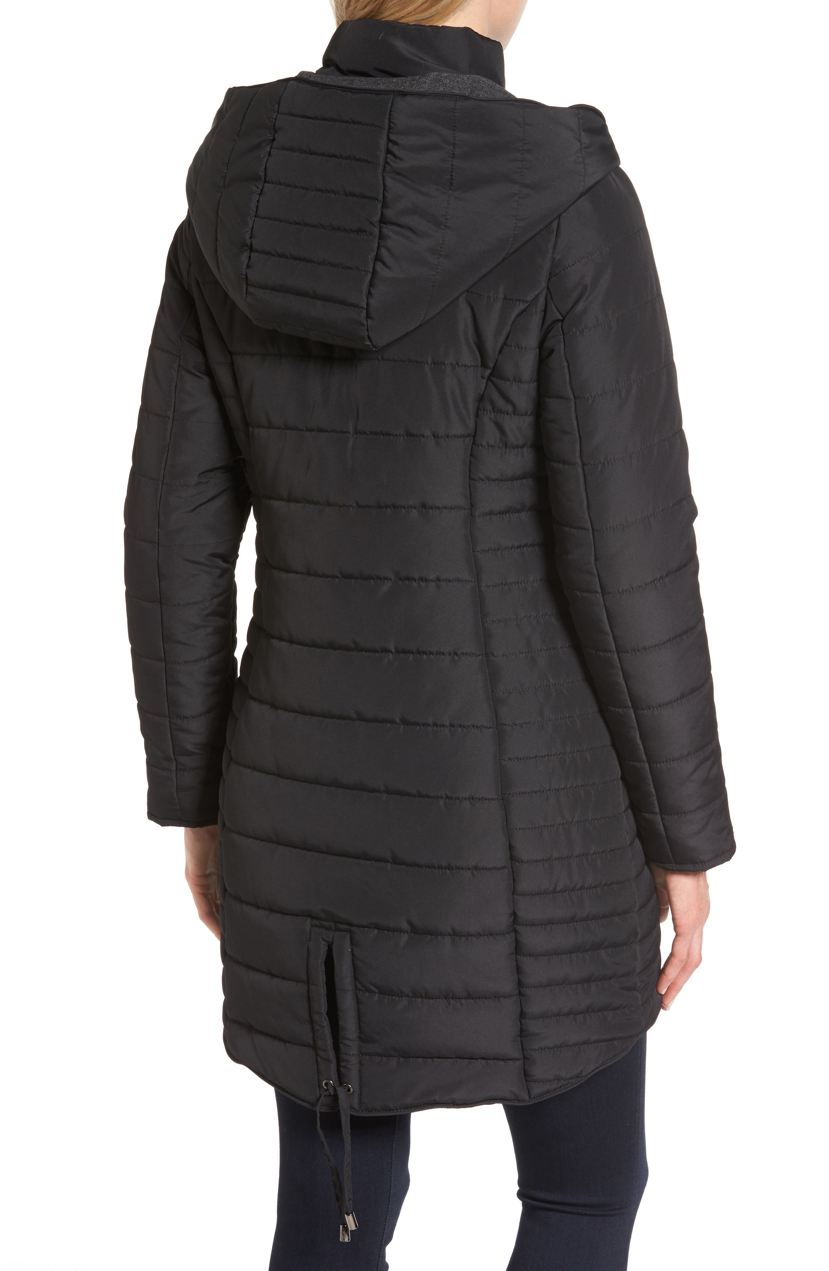 Quilted Hooded Jacket,                             Alternate thumbnail 2, color,