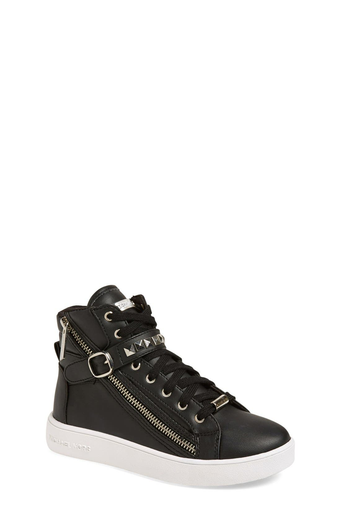 'Ivy Rory' High Top Sneaker,                             Main thumbnail 1, color,                             001