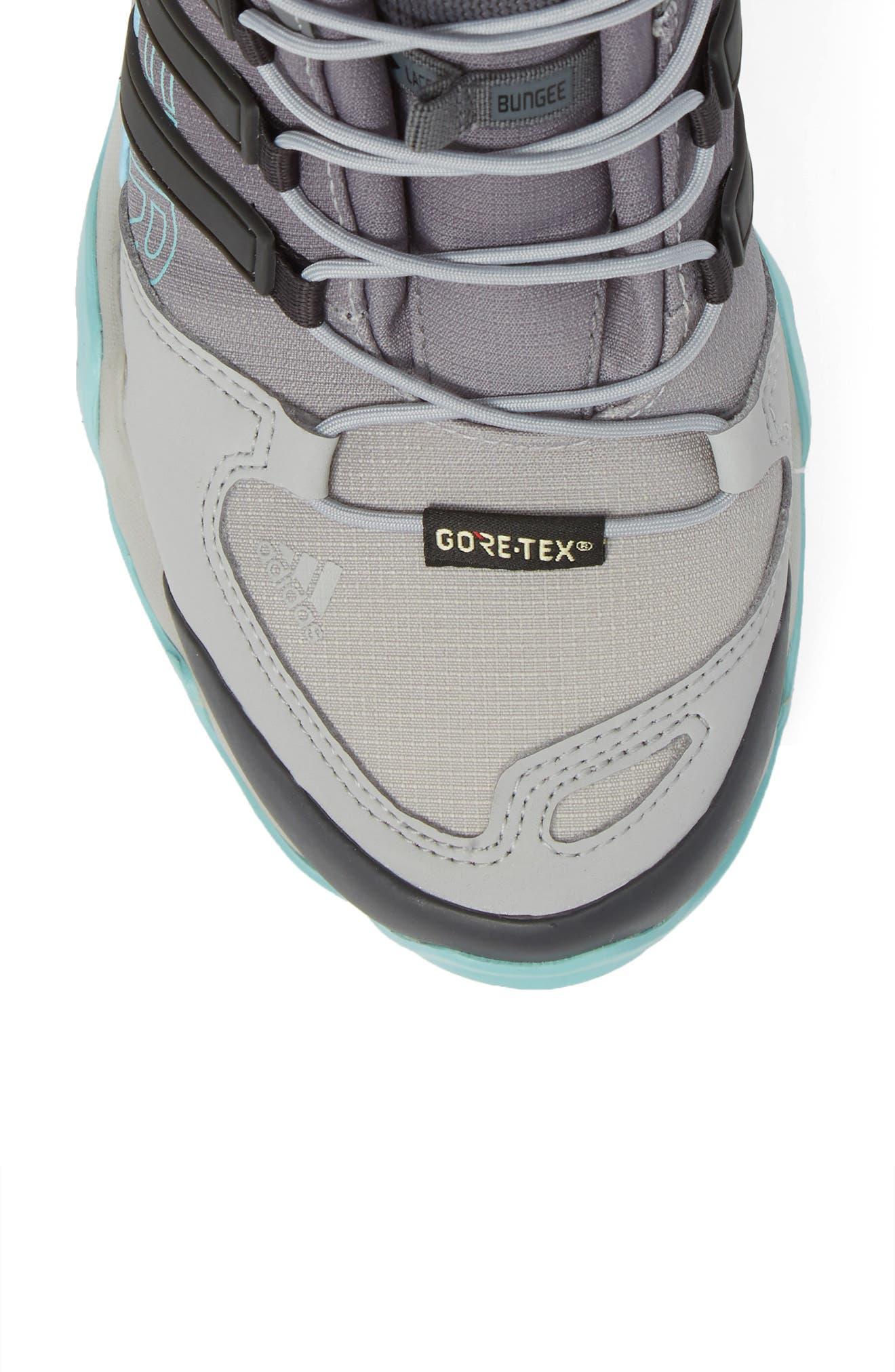 Terrex Swift R GTX Mid Hiking Boot,                             Alternate thumbnail 5, color,                             020