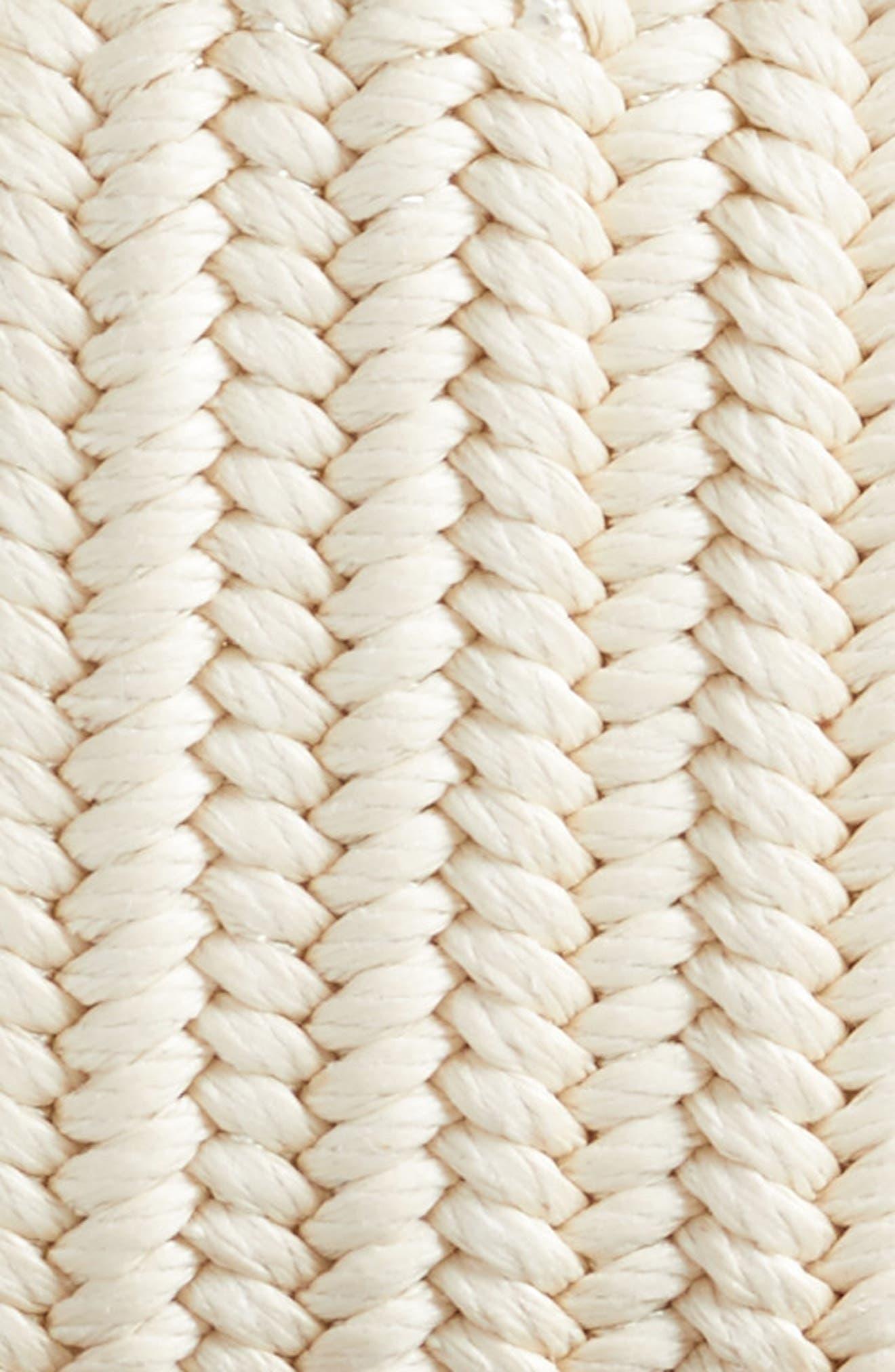 Woven Belt,                             Alternate thumbnail 2, color,                             CREAM