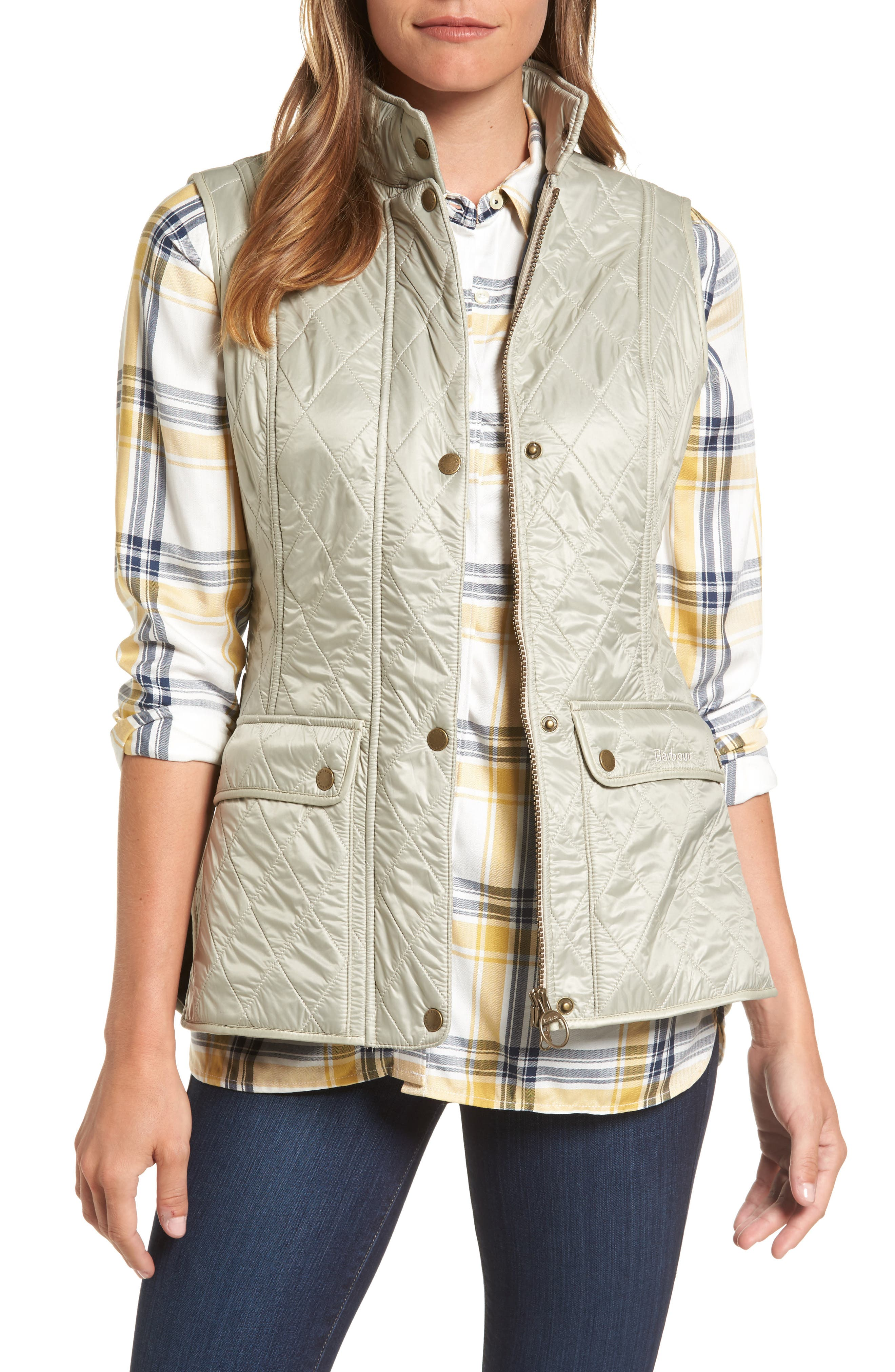 Wray Water Resistant Quilted Gilet,                             Main thumbnail 2, color,