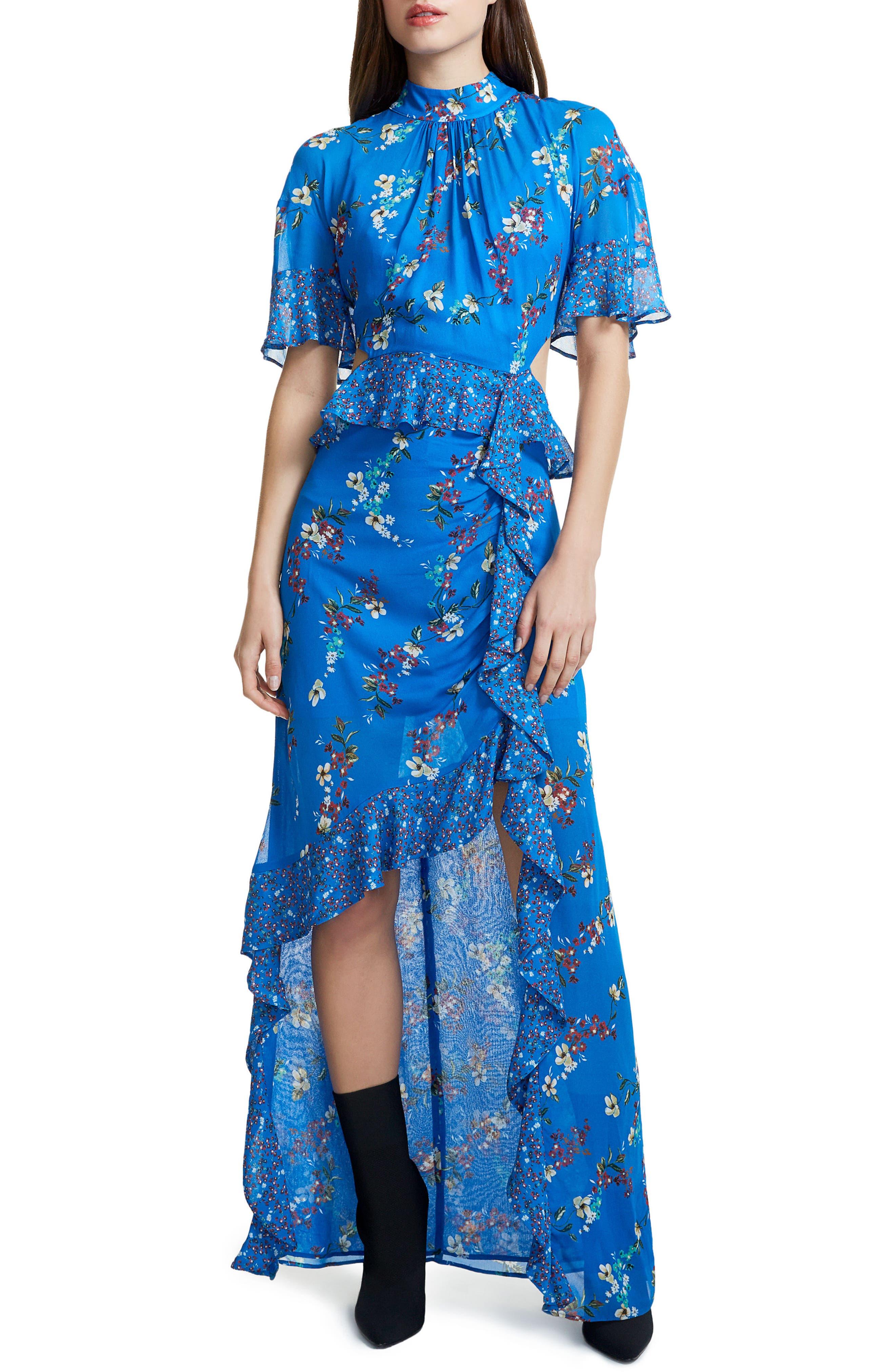 Melsa Cutout Maxi Dress,                         Main,                         color,