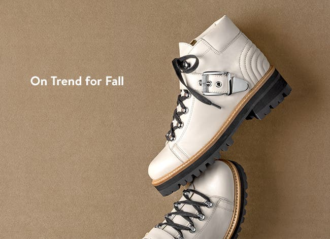 On trend for fall.