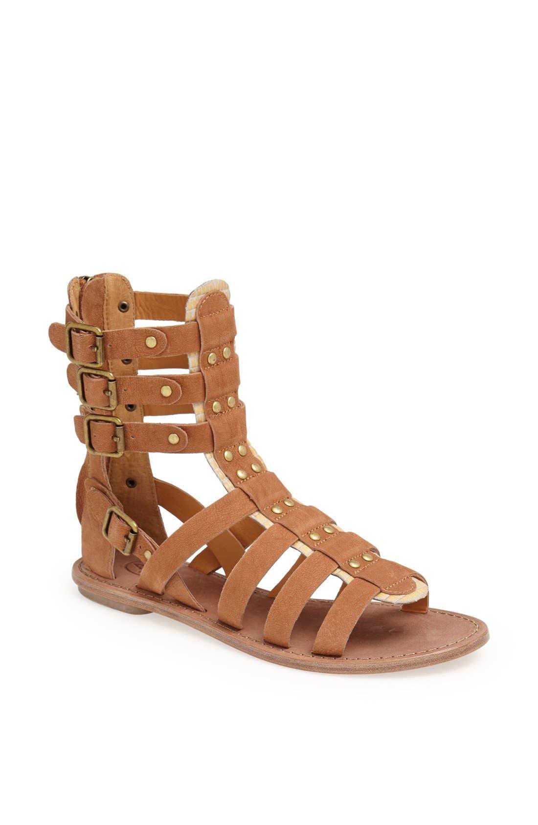 ASH 'Nomad' Gladiator Sandal, Main, color, 200