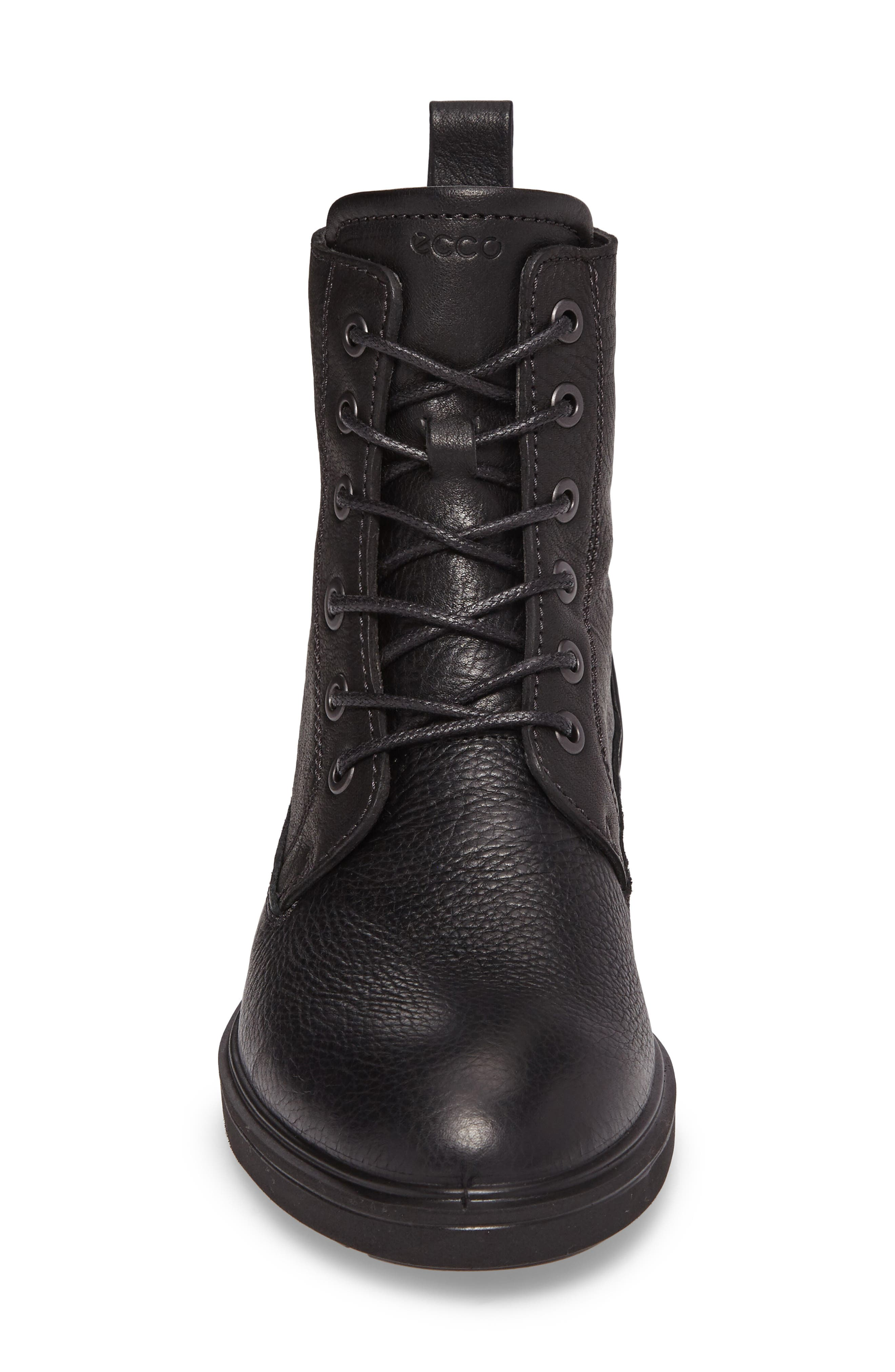 Zoe Lace-Up Boot,                             Alternate thumbnail 4, color,                             001