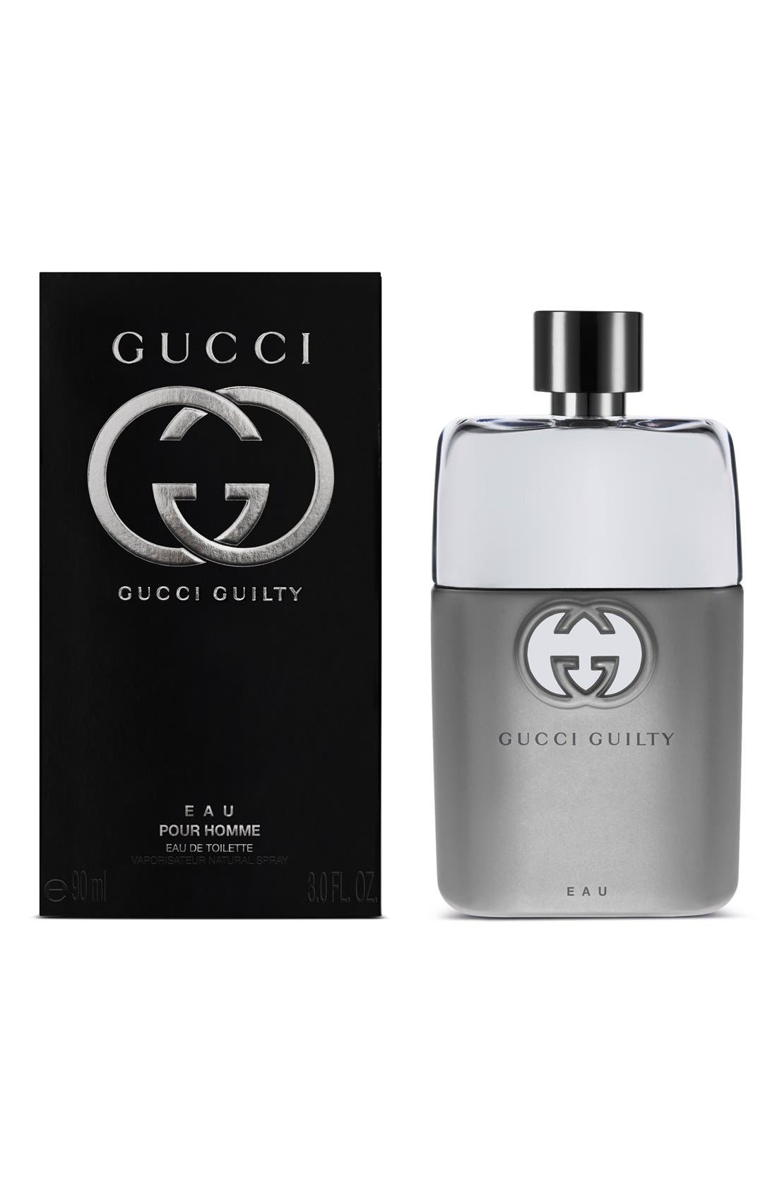 'Guilty Eau Pour Homme' Eau de Toilette,                             Alternate thumbnail 2, color,                             NO COLOR