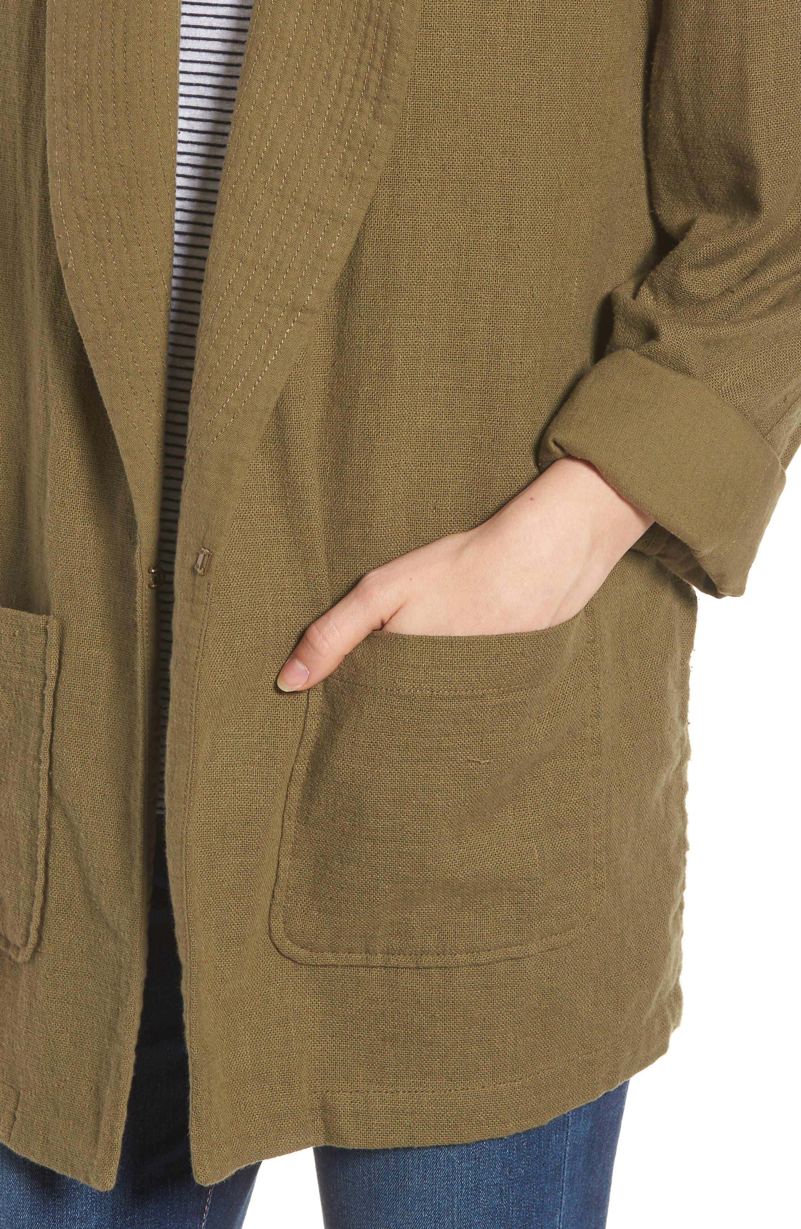 Maura Jacket,                             Alternate thumbnail 4, color,                             OLIVE GROVE