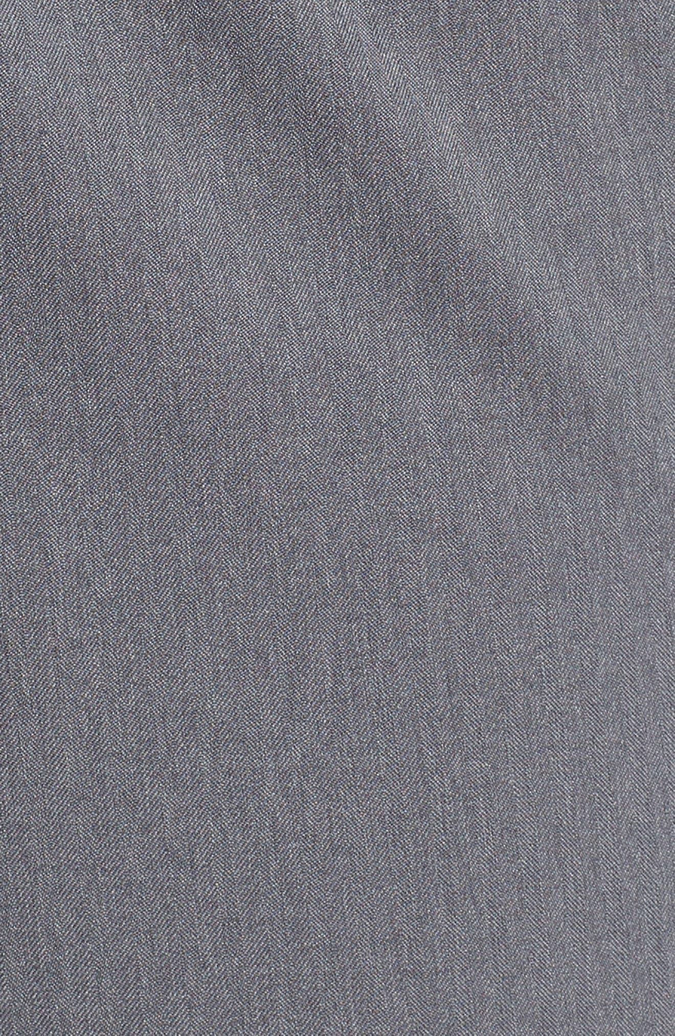 Sportstyle Elite Cargo Shorts,                             Alternate thumbnail 5, color,                             STEEL FULL HEATHER / / BLACK