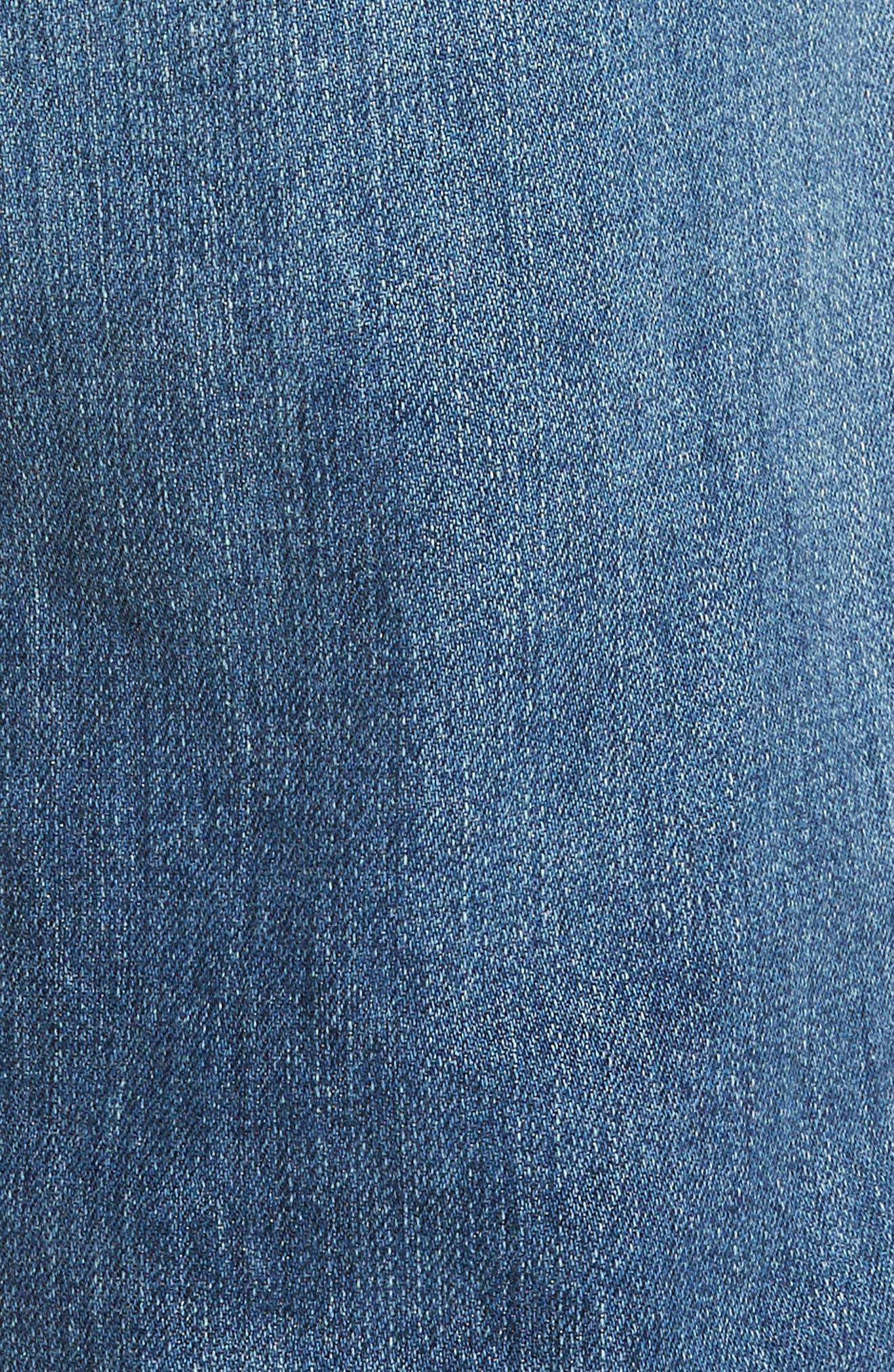 Everett Slim Straight Leg Jeans,                             Alternate thumbnail 5, color,                             15 YEARS SWEPT UP