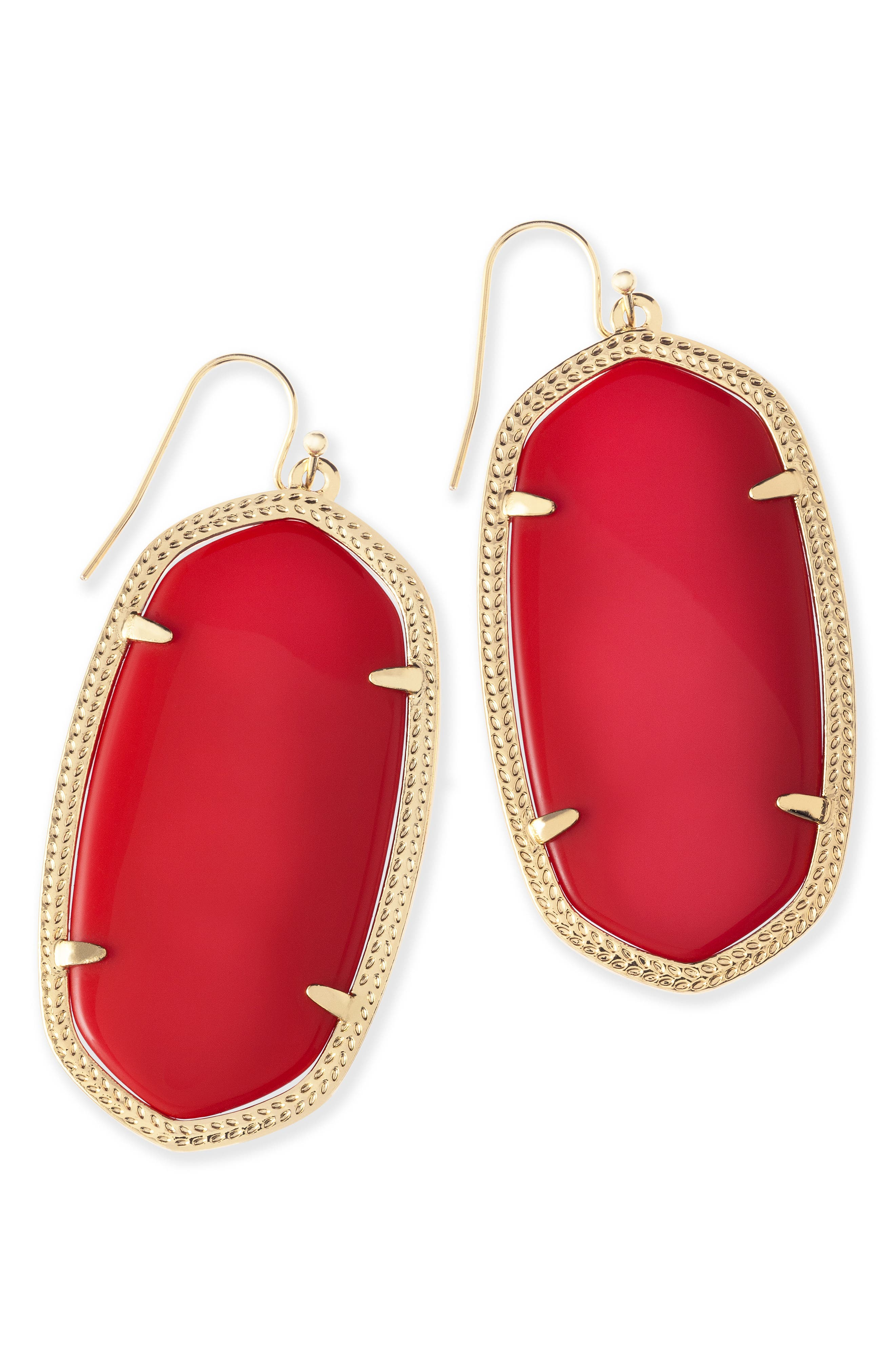Danielle - Large Oval Statement Earrings,                             Alternate thumbnail 208, color,