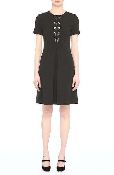 Lace-Up Milano Knit Dress, video thumbnail