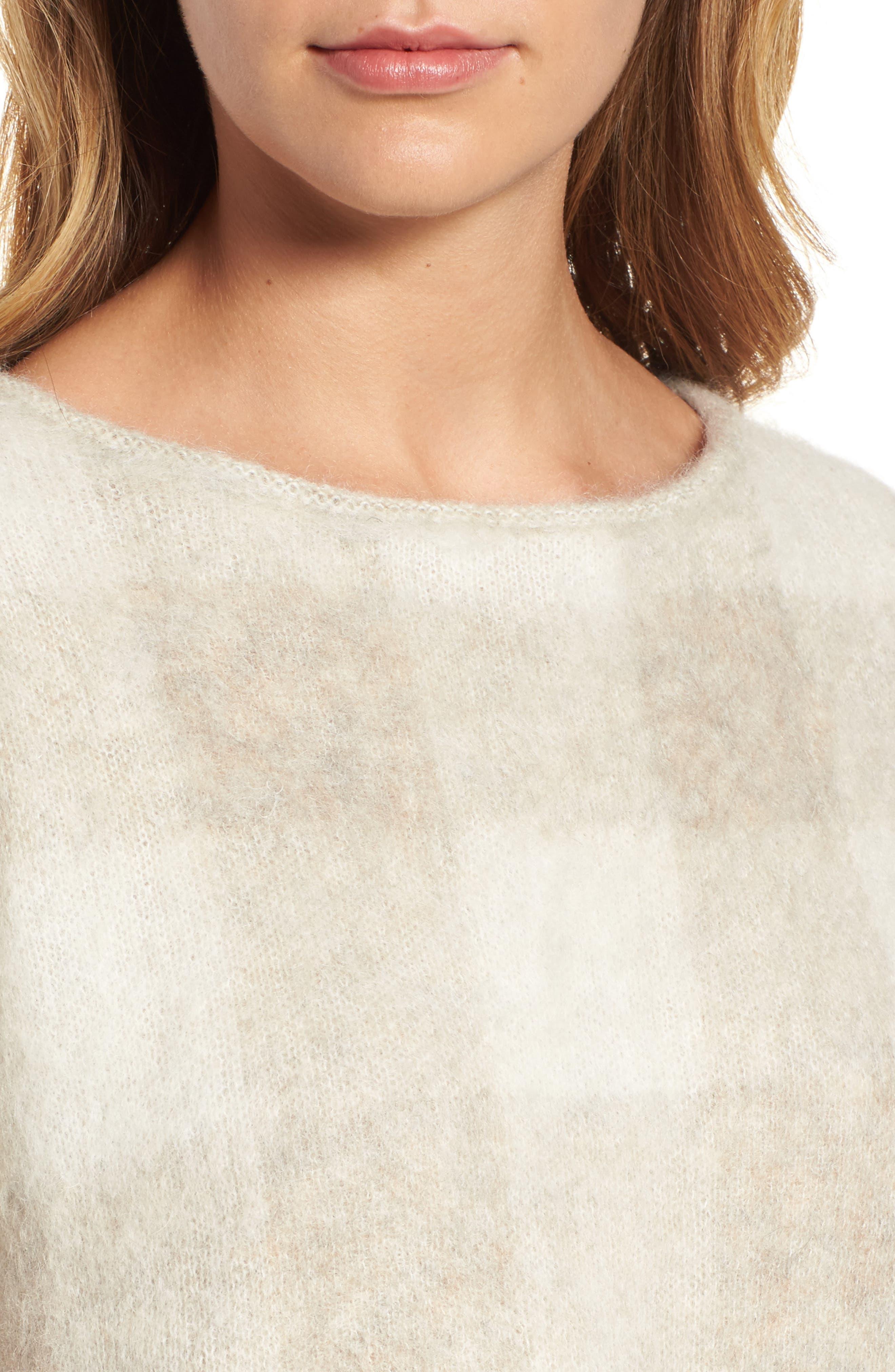 Check Plaid Sweater,                             Alternate thumbnail 8, color,